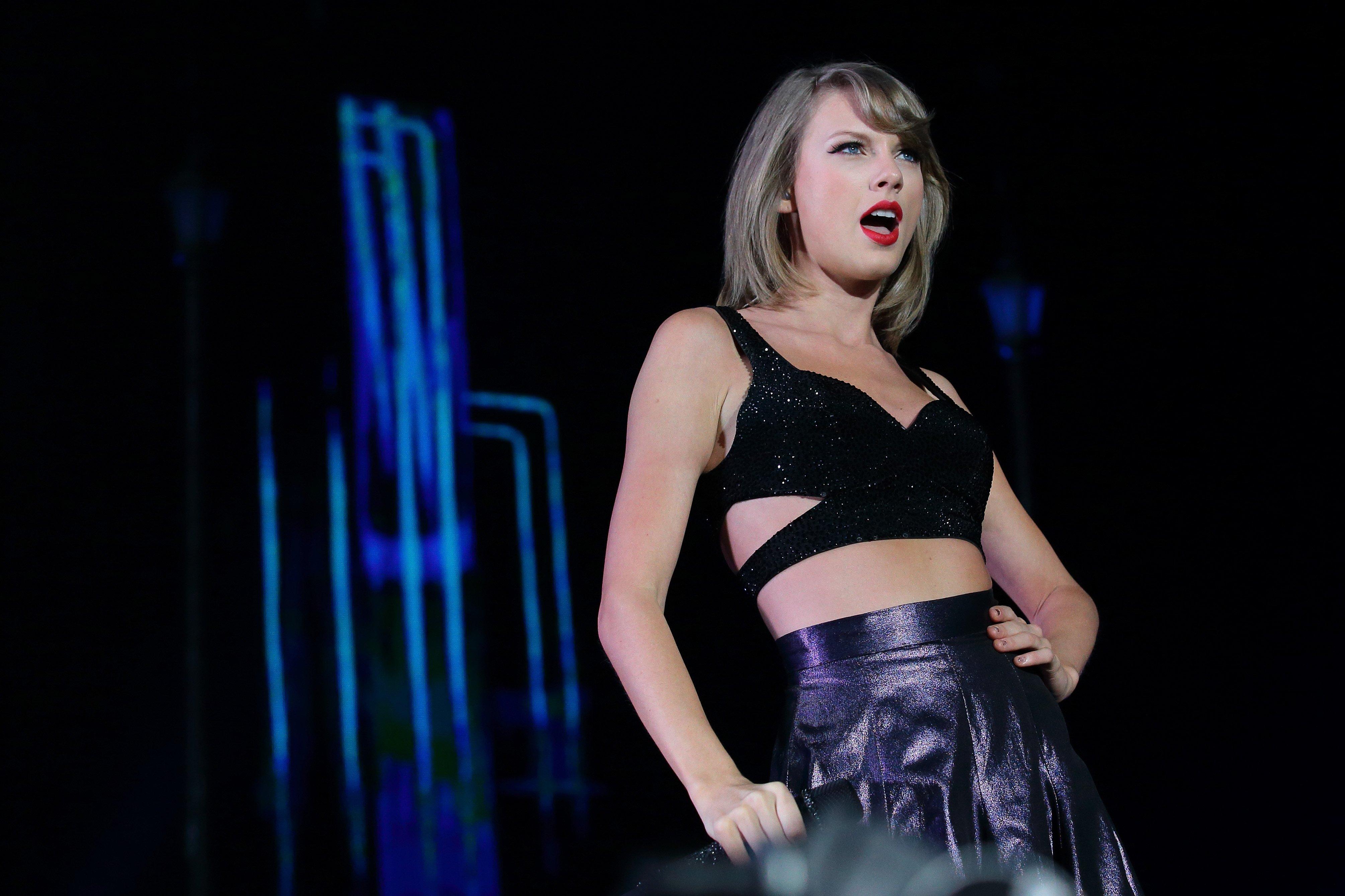 Fondos de pantalla Taylor Swift en The 1989 World Tour