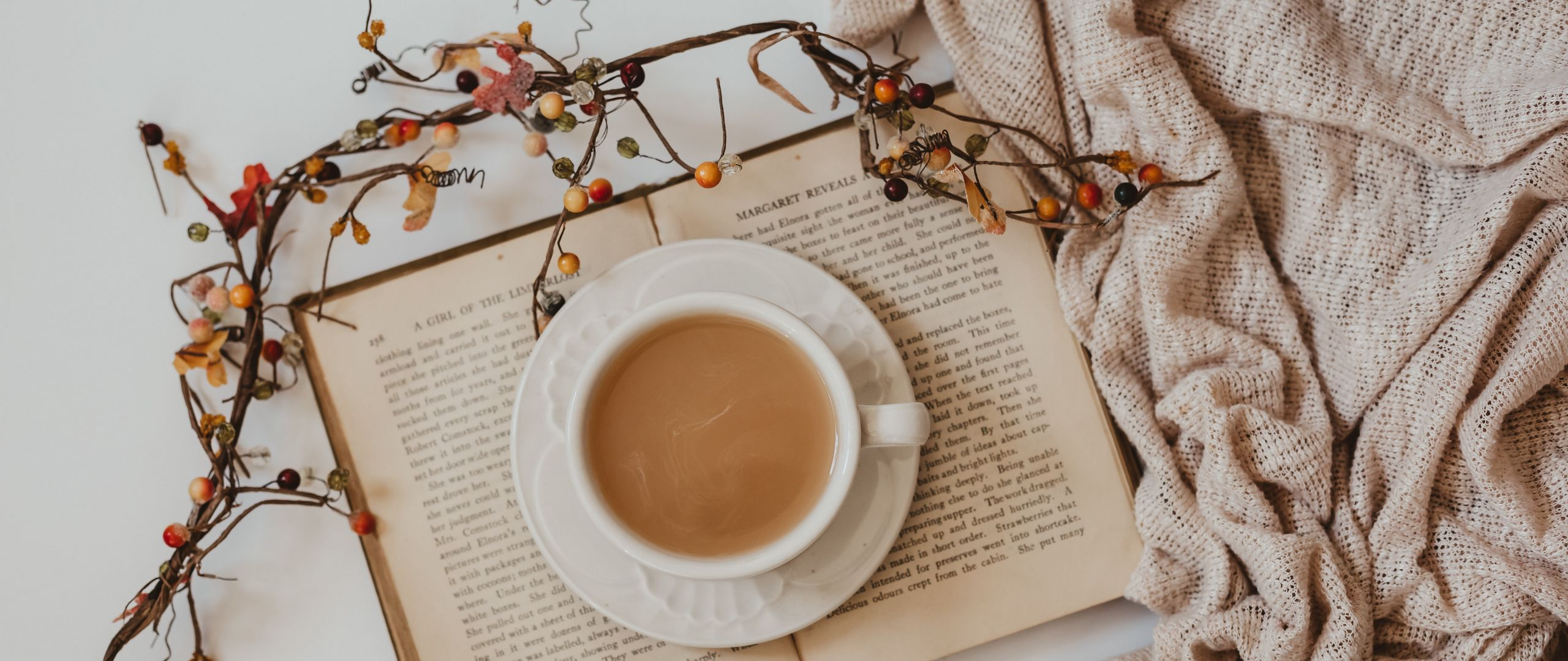 Cup Of Coffee And Book Wallpaper 2k Quad Hd Id 6681
