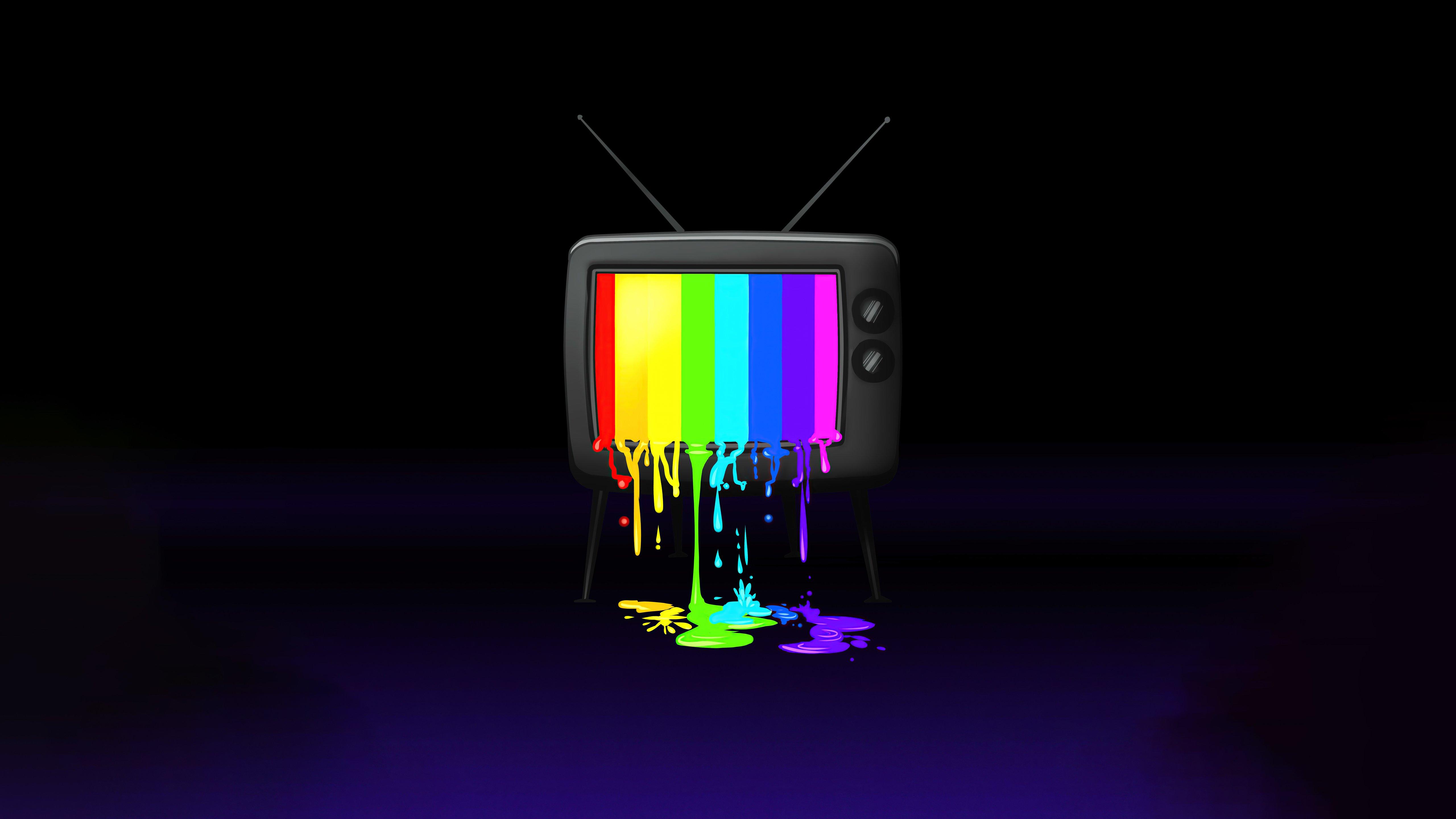 Fondos de pantalla Tele RGB Minimalista