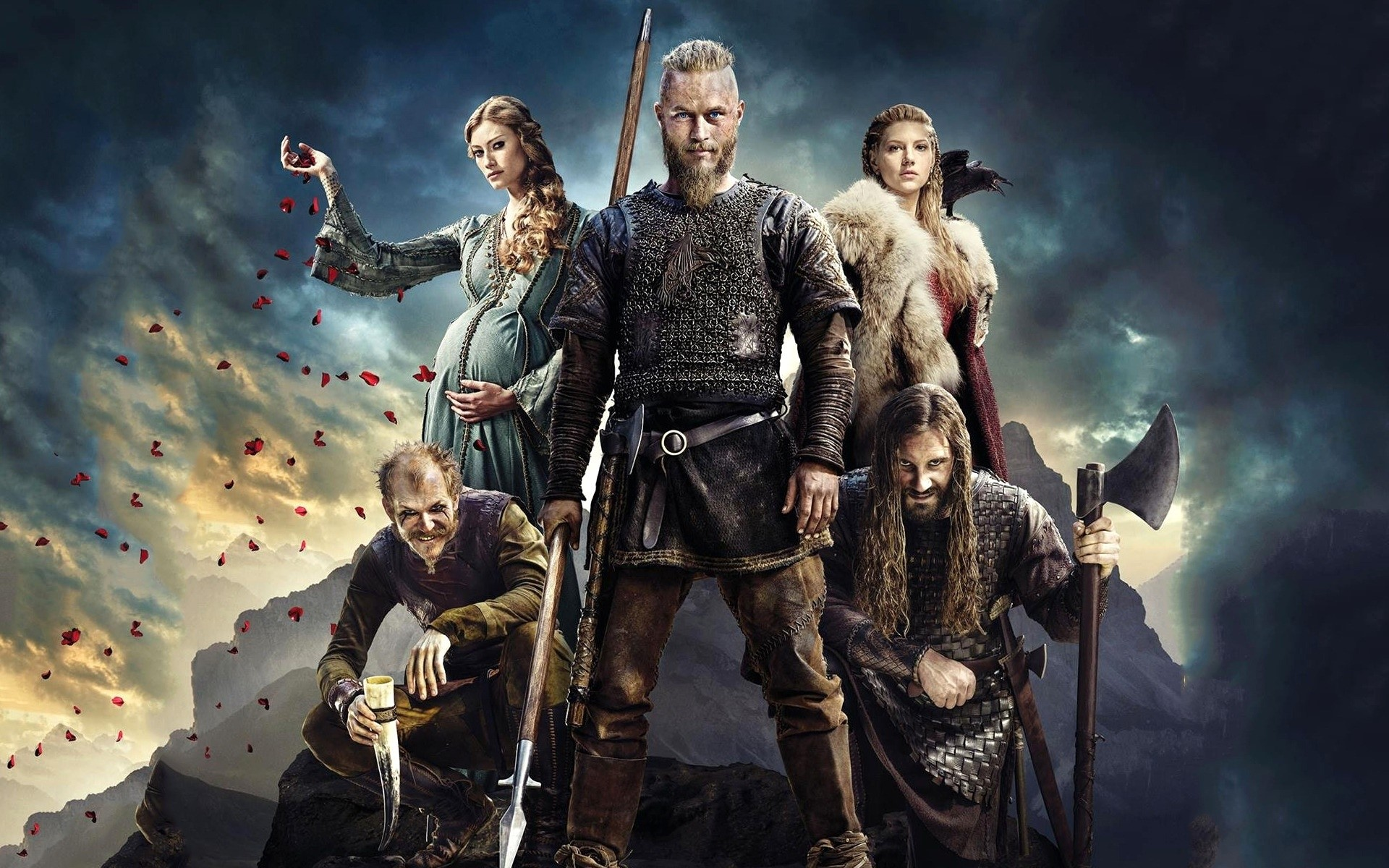 Fondos de pantalla Temporada 4 de Vikingos