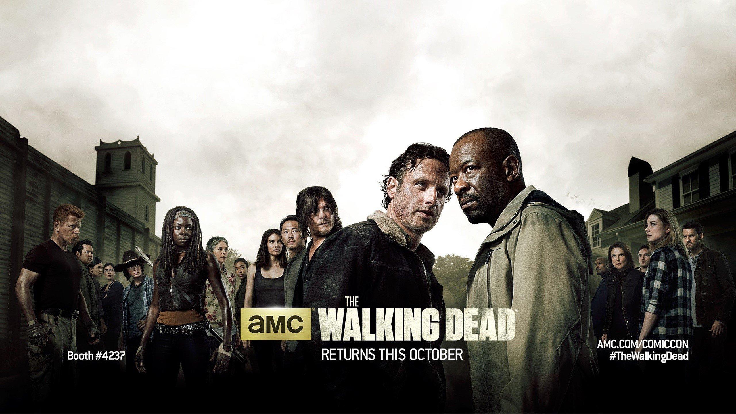The Walking Dead Temporada 6 Cartel Fondos Fondos De: Temporada 6 De The Walking Dead