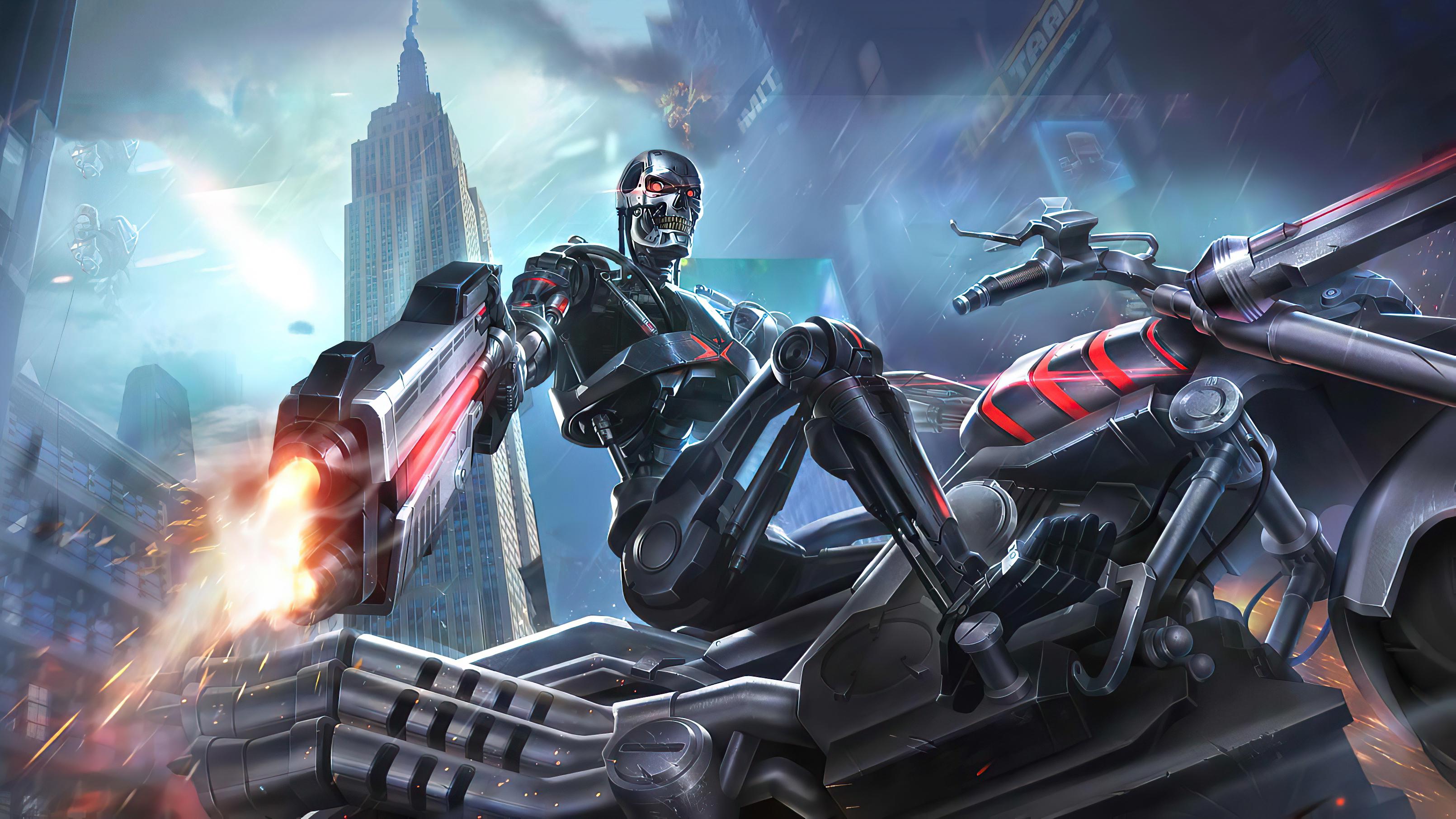 Fondos de pantalla Terminator Garena Contra Returns