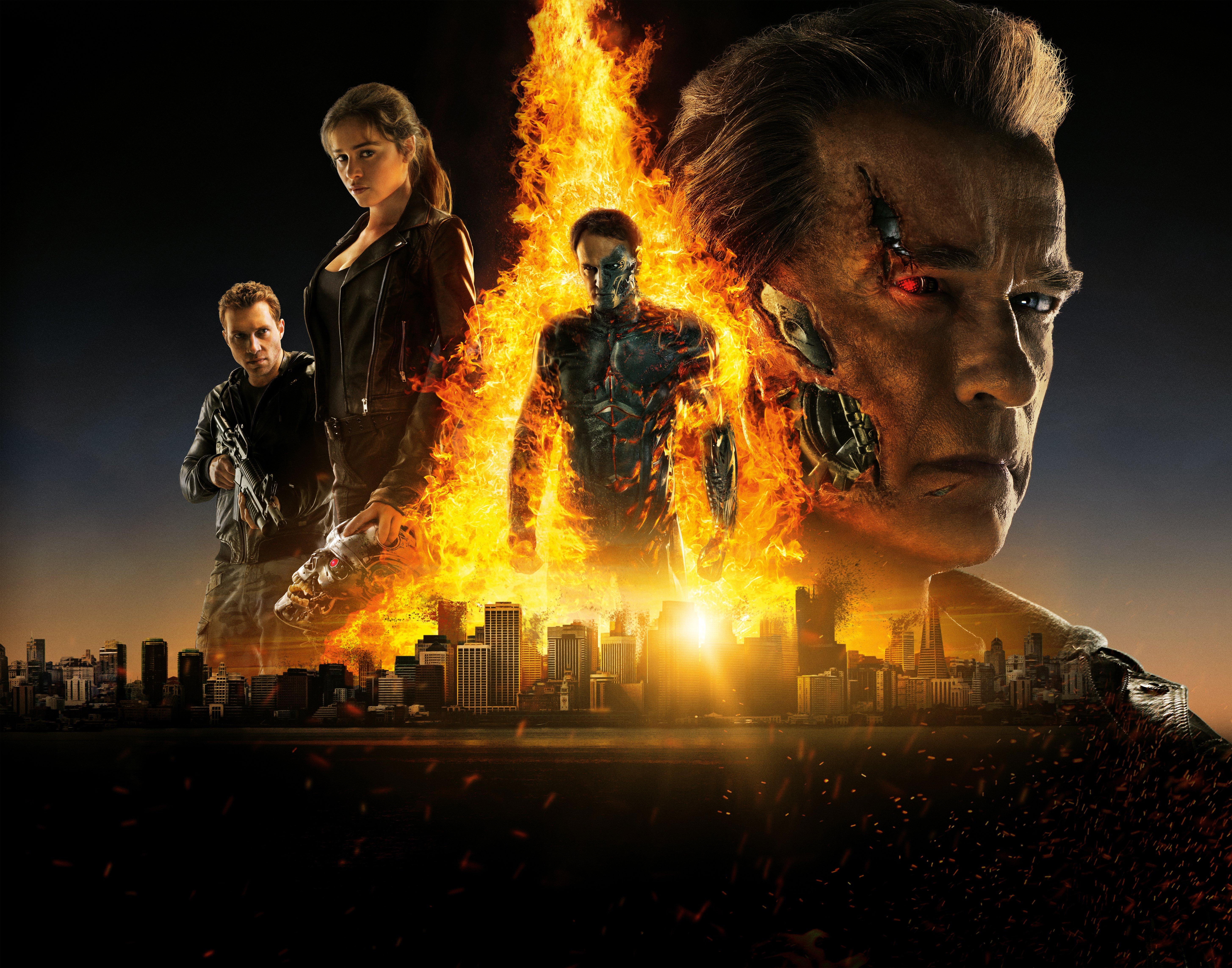 Fondos de pantalla Terminator Génesis 2021