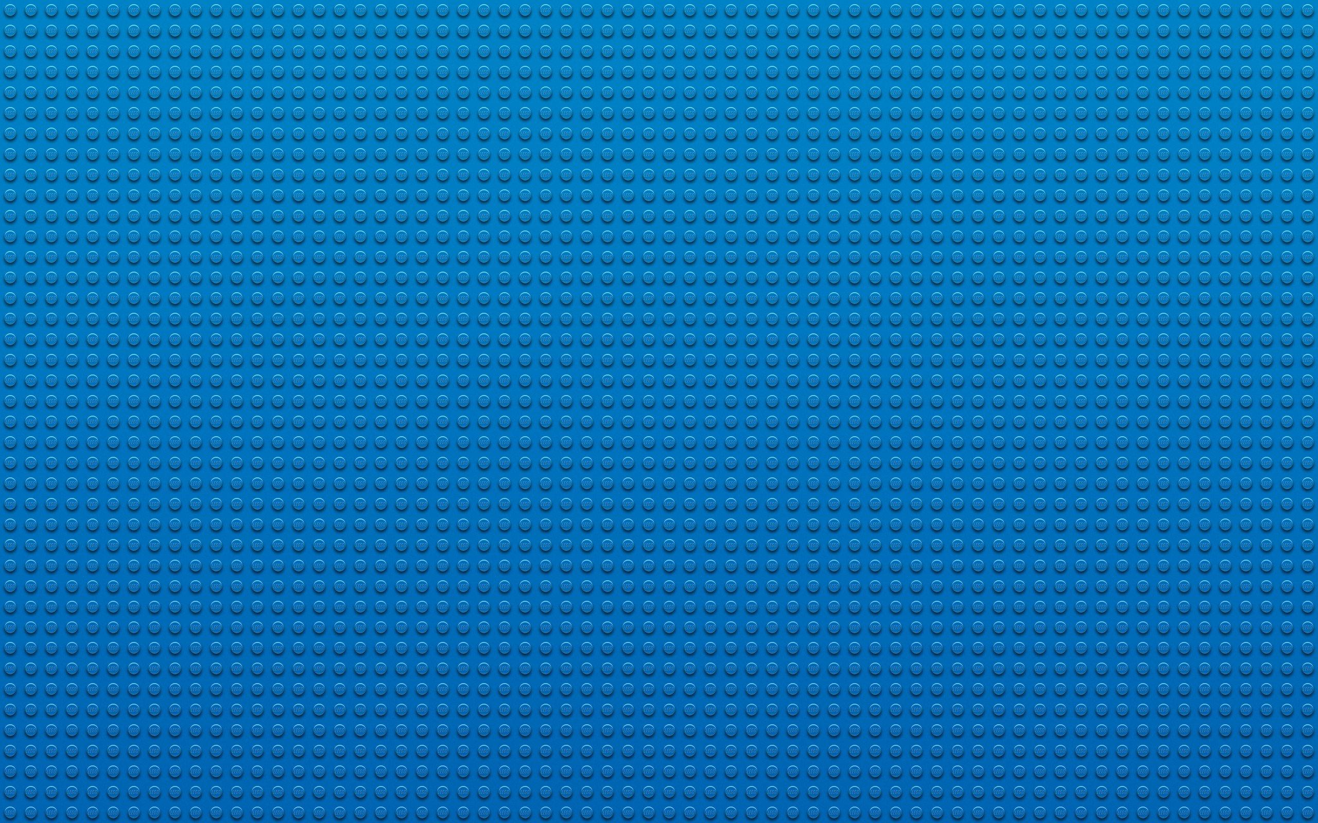 Wallpaper LEGO blue texture