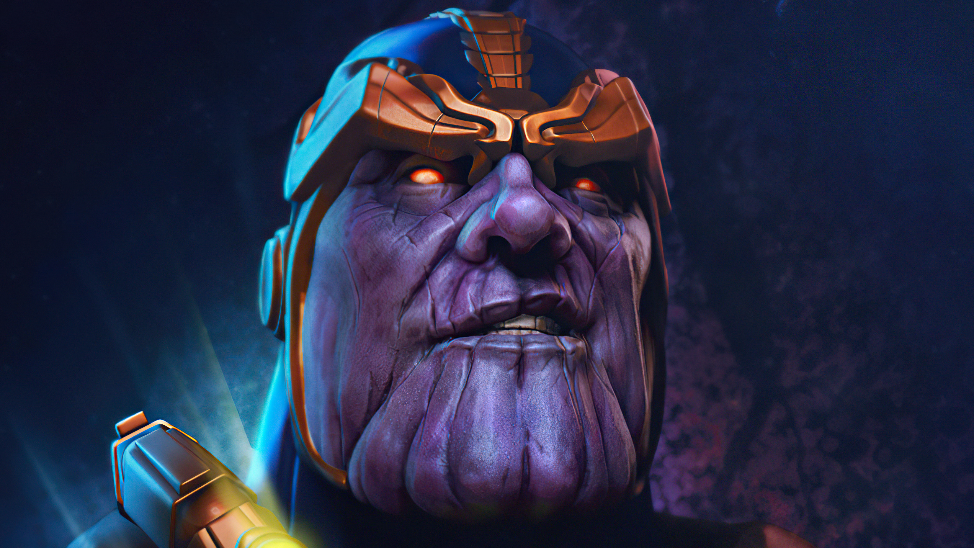 Wallpaper Thanos Artwork