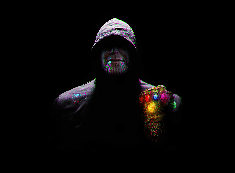 Fondos de pantalla Thanos con capucha