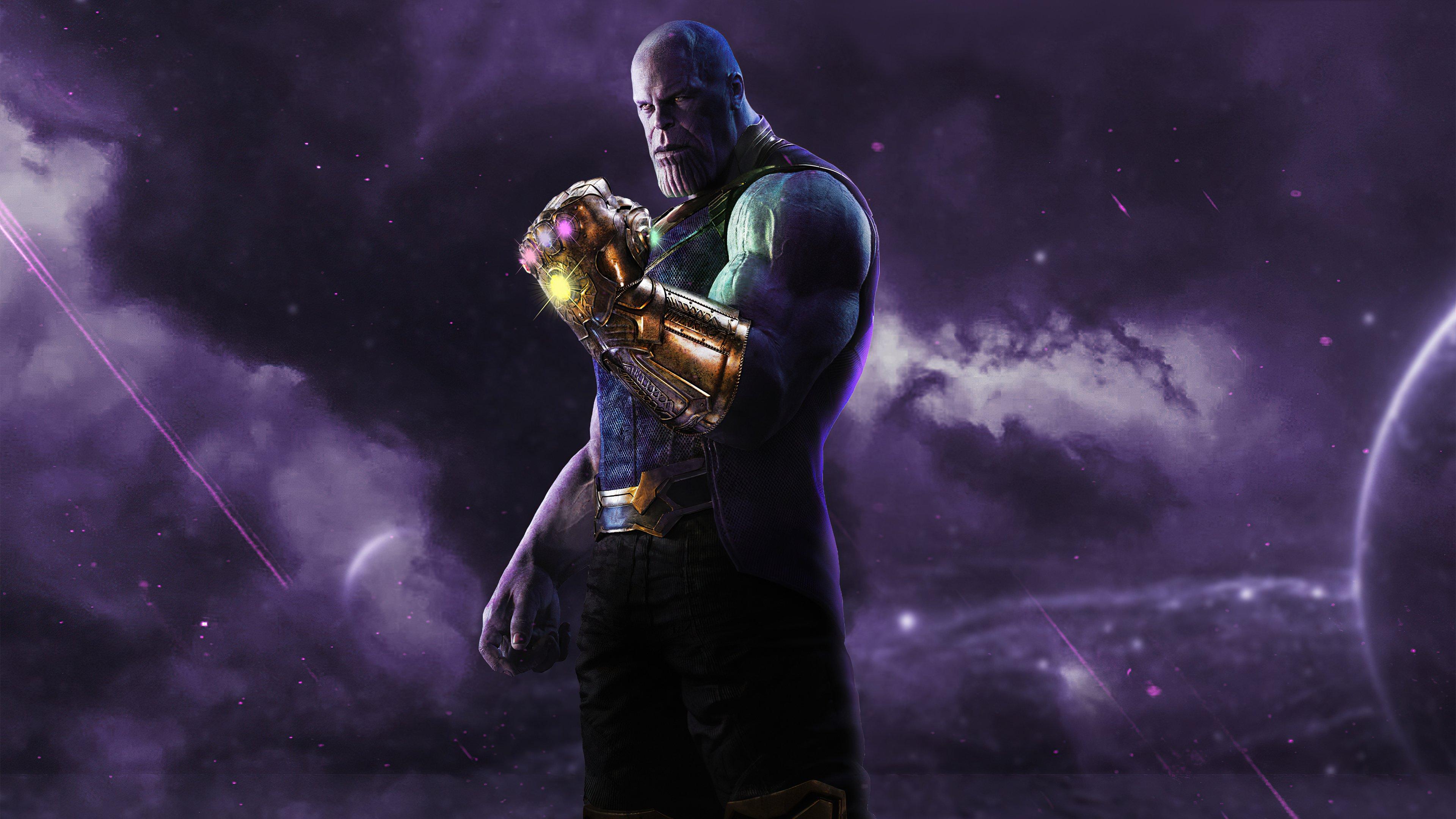 Wallpaper Thanos The Mad Titan