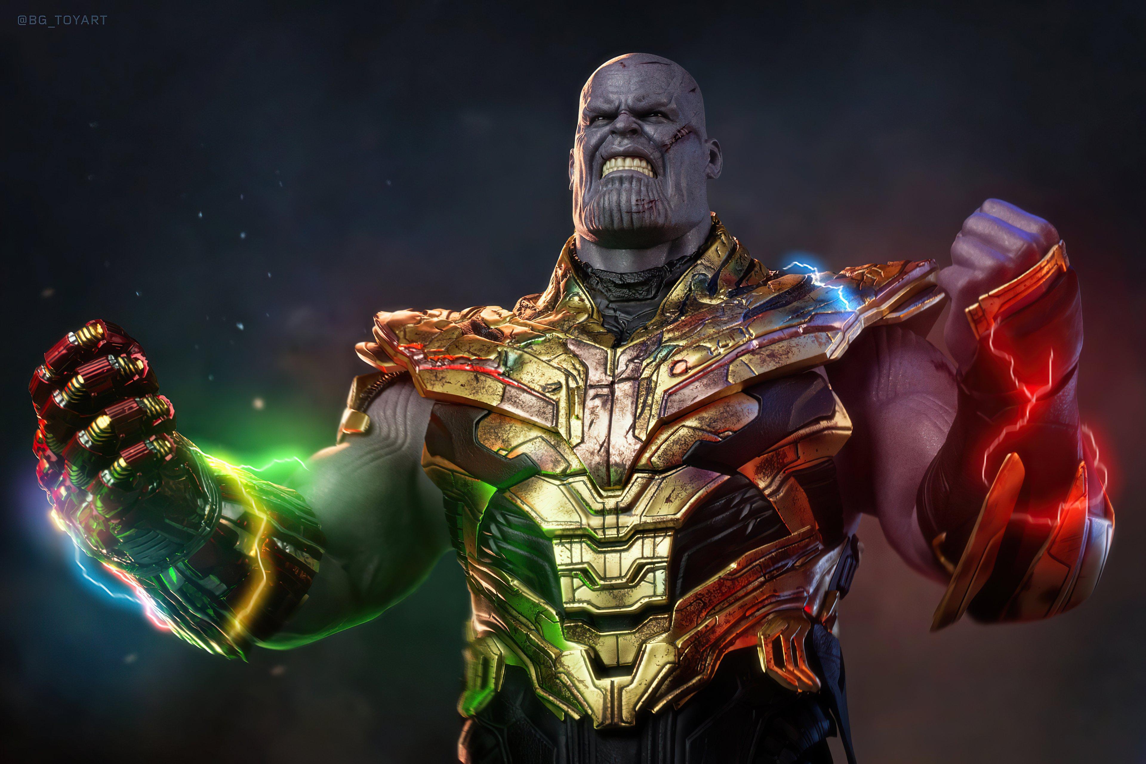 Fondos de pantalla Thanos El mundo es mío