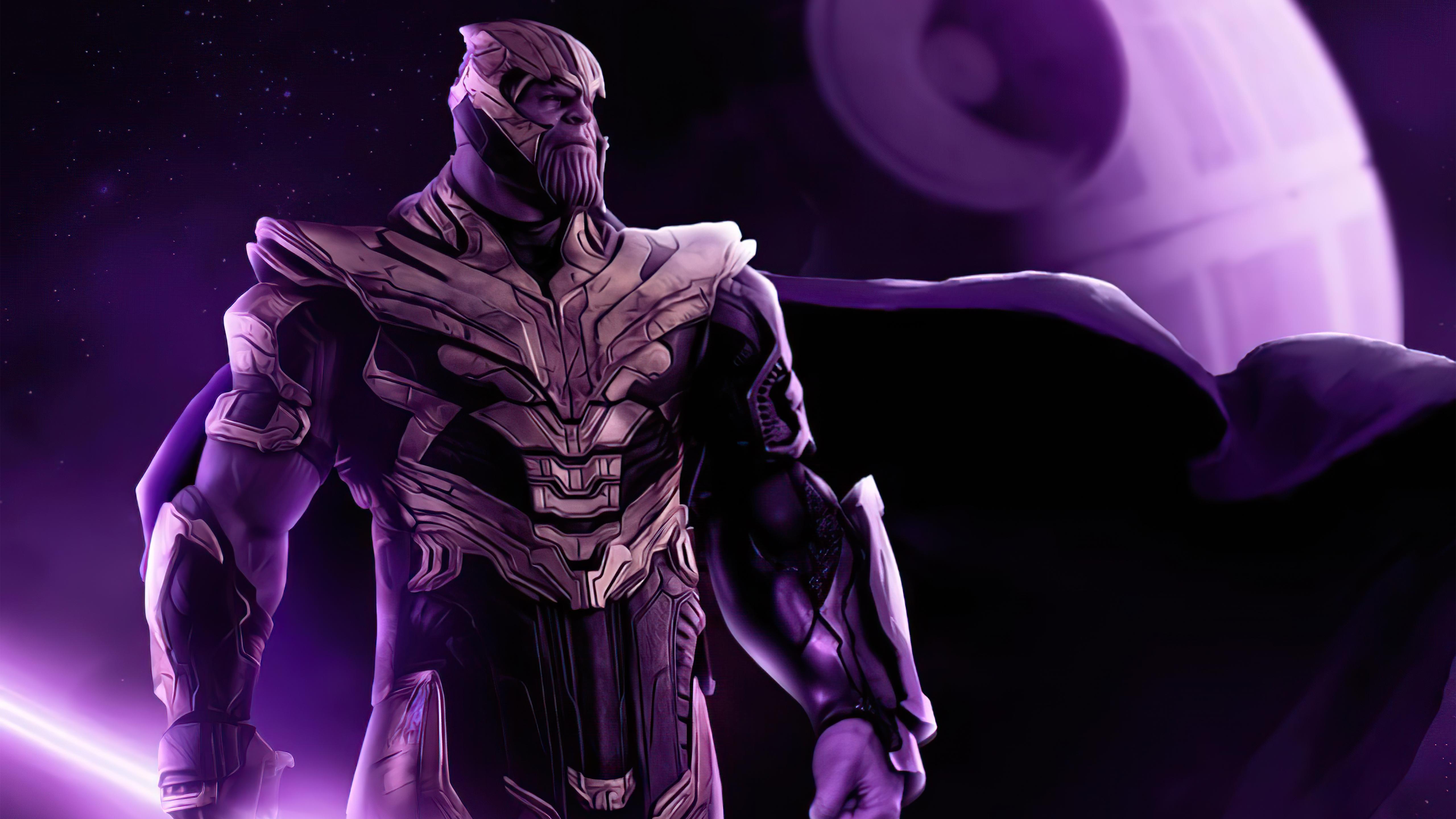 Wallpaper Thanos x Star Wars