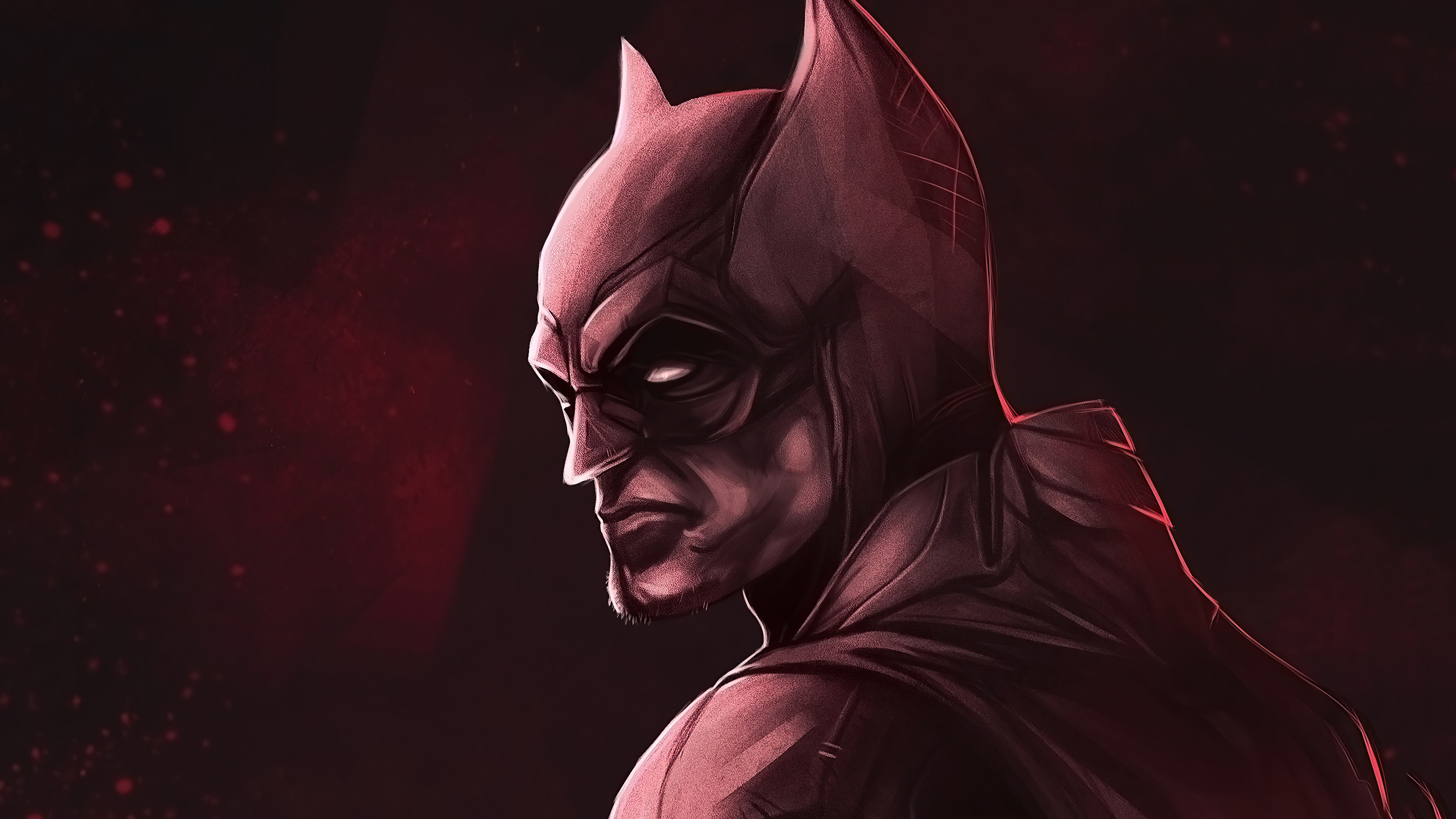 Wallpaper The Batman 2021 New Fanart