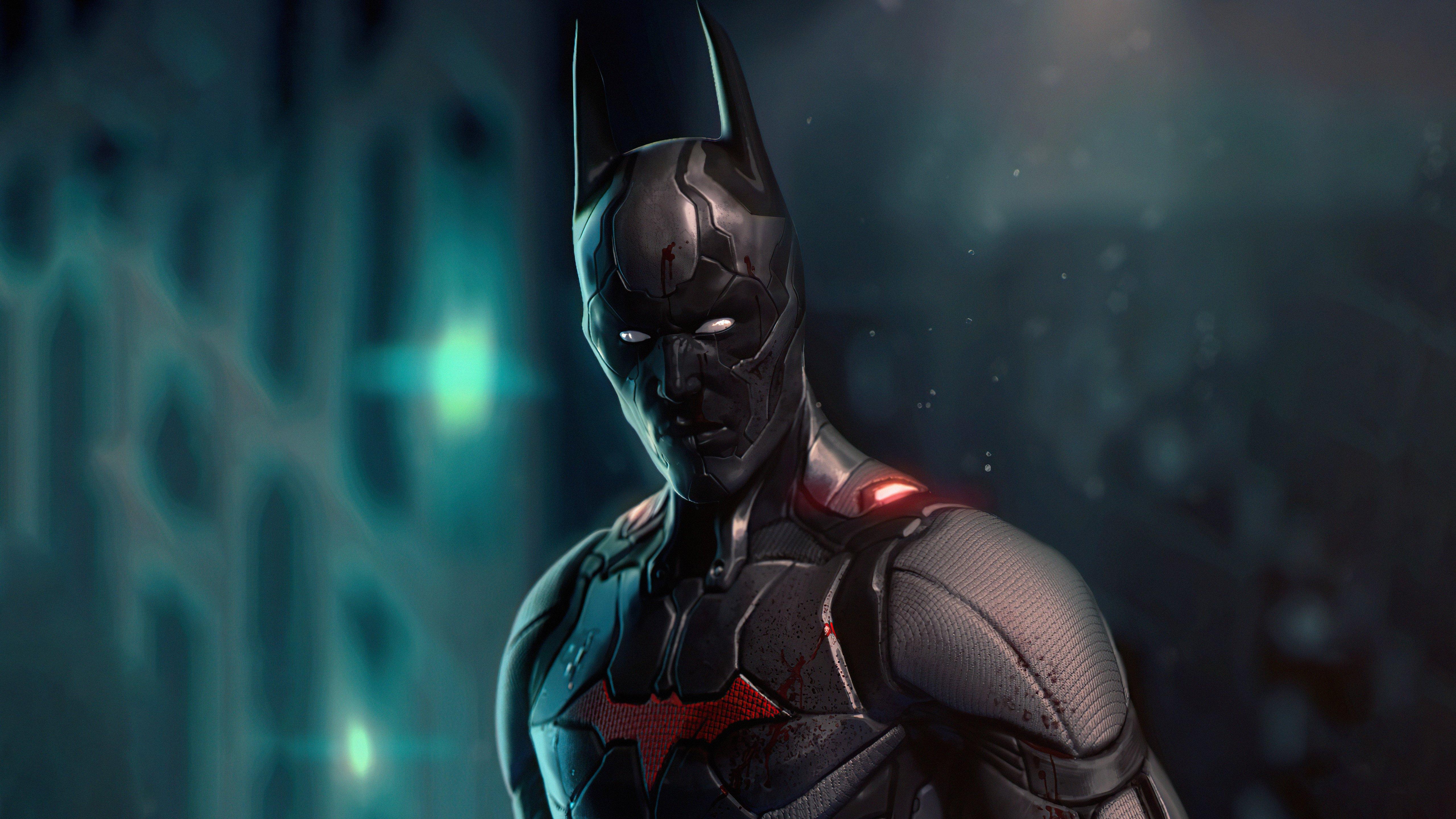 Wallpaper The batman Beyond