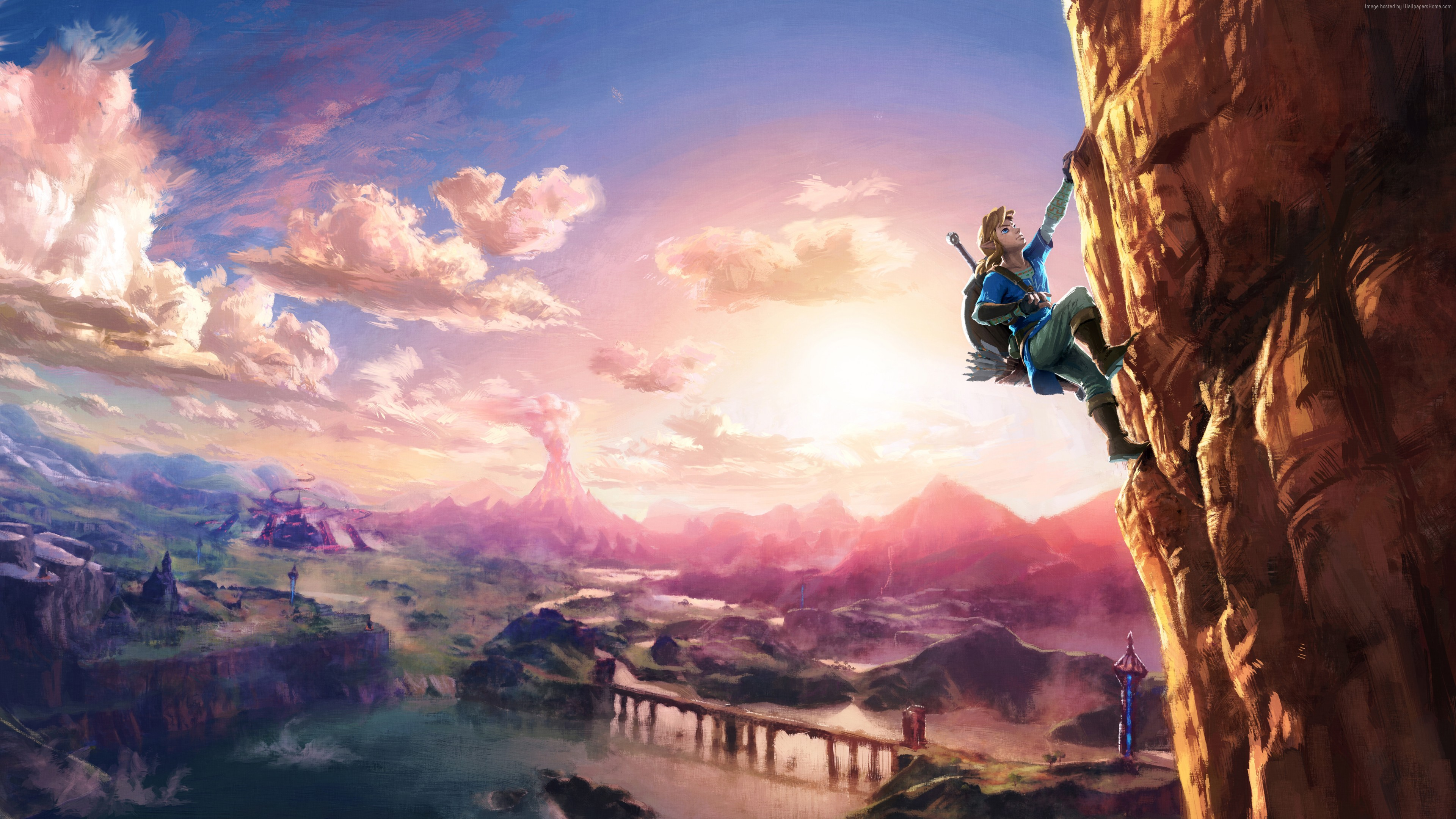 The Legend Of Zelda Breath Of The Wild Fondo De Pantalla 4k