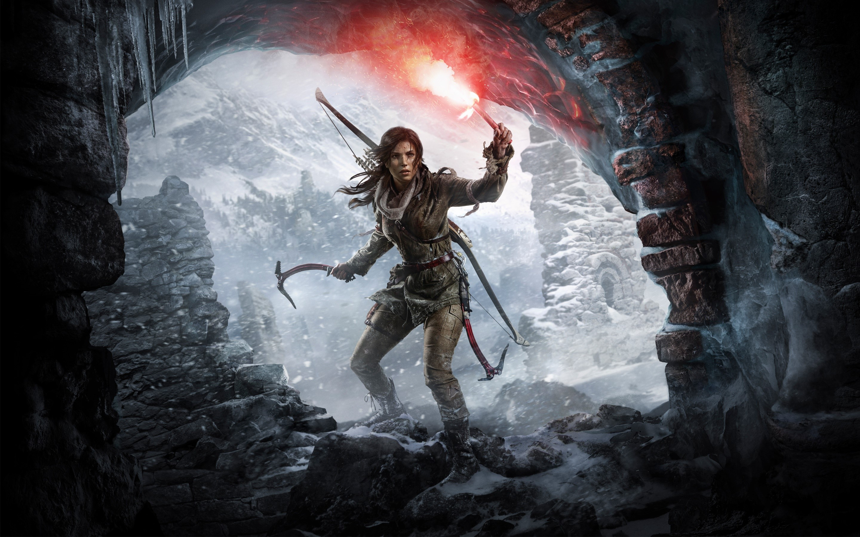Fondos de pantalla The Rise Of The Tomb Raider