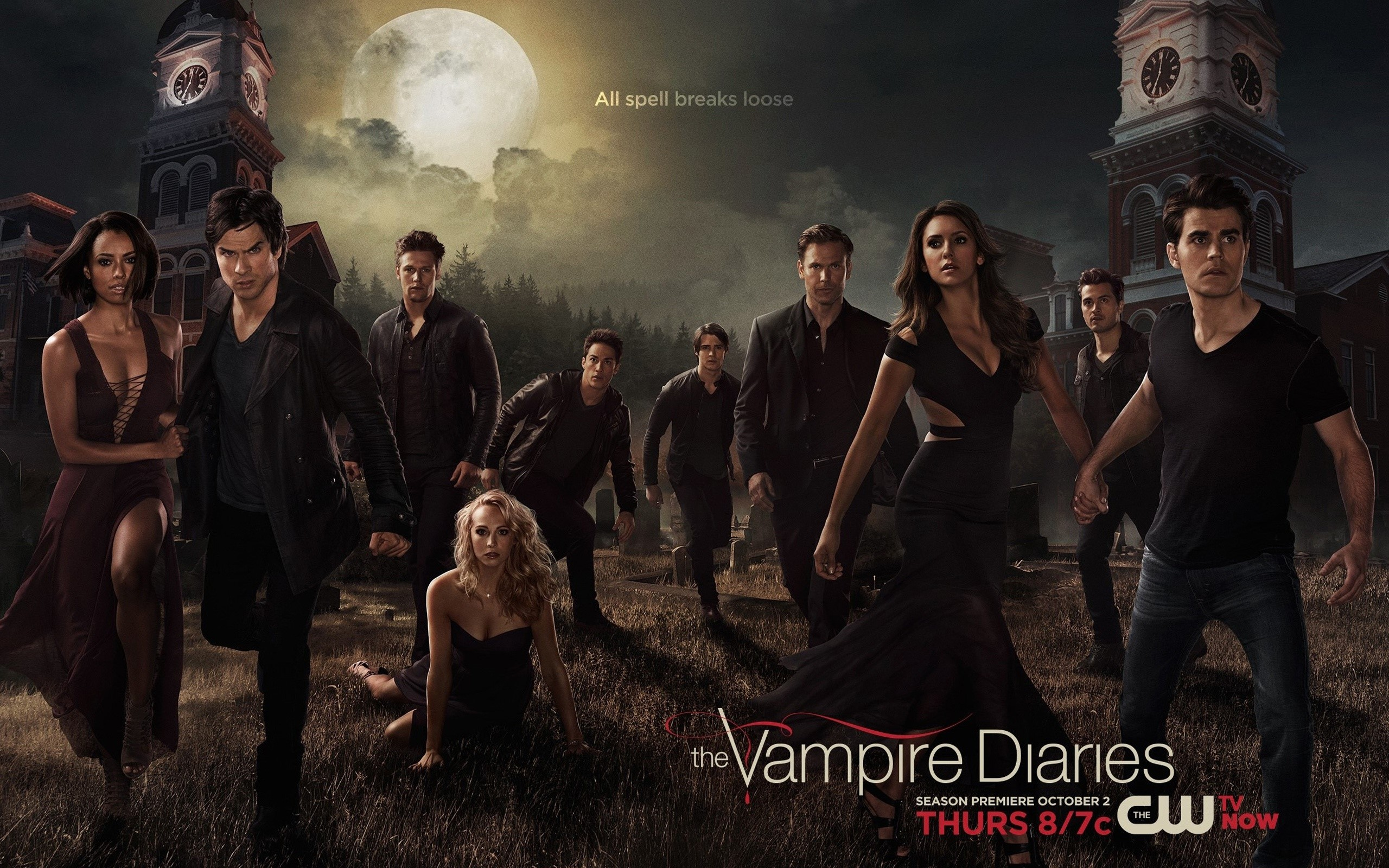 Wallpaper The vampire Diaries still of season 6