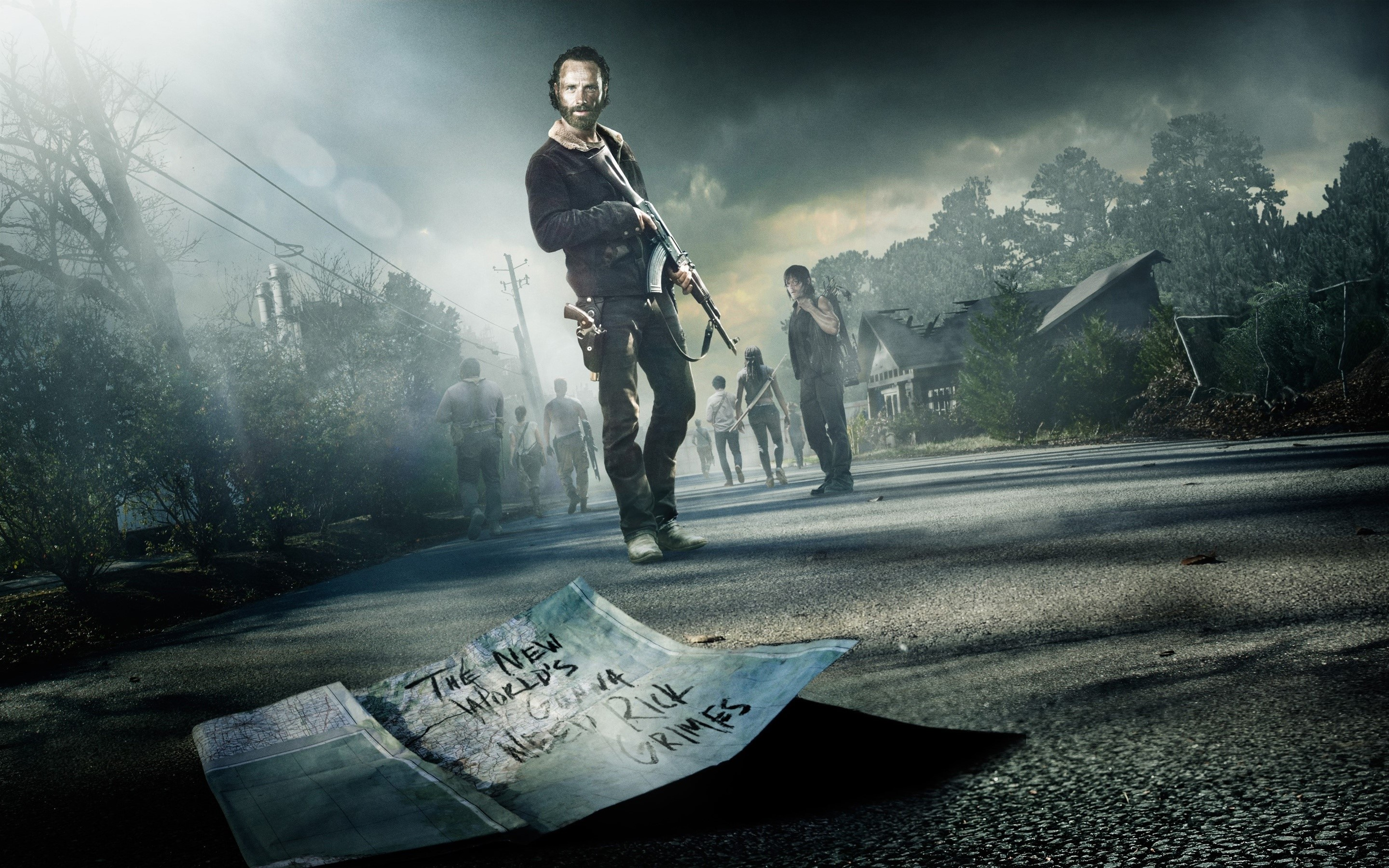 Wallpaper The walking dead