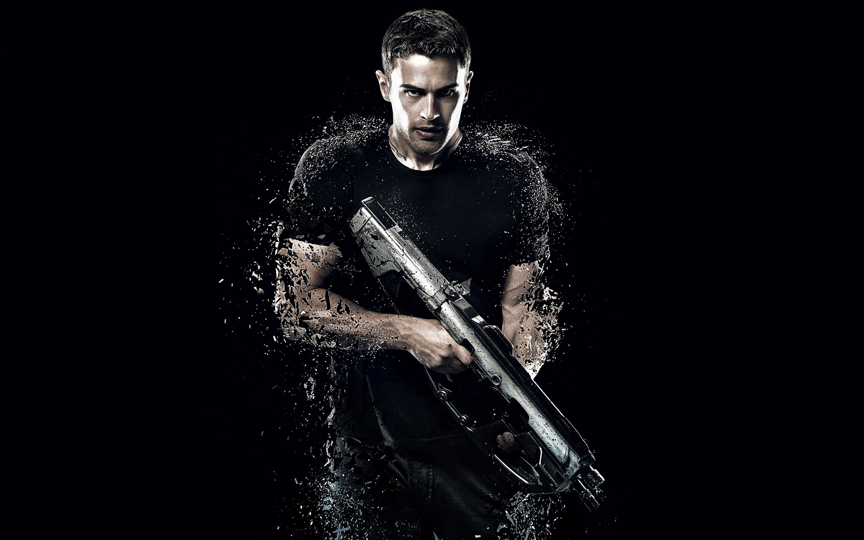 Wallpaper Theo James for Insurgent