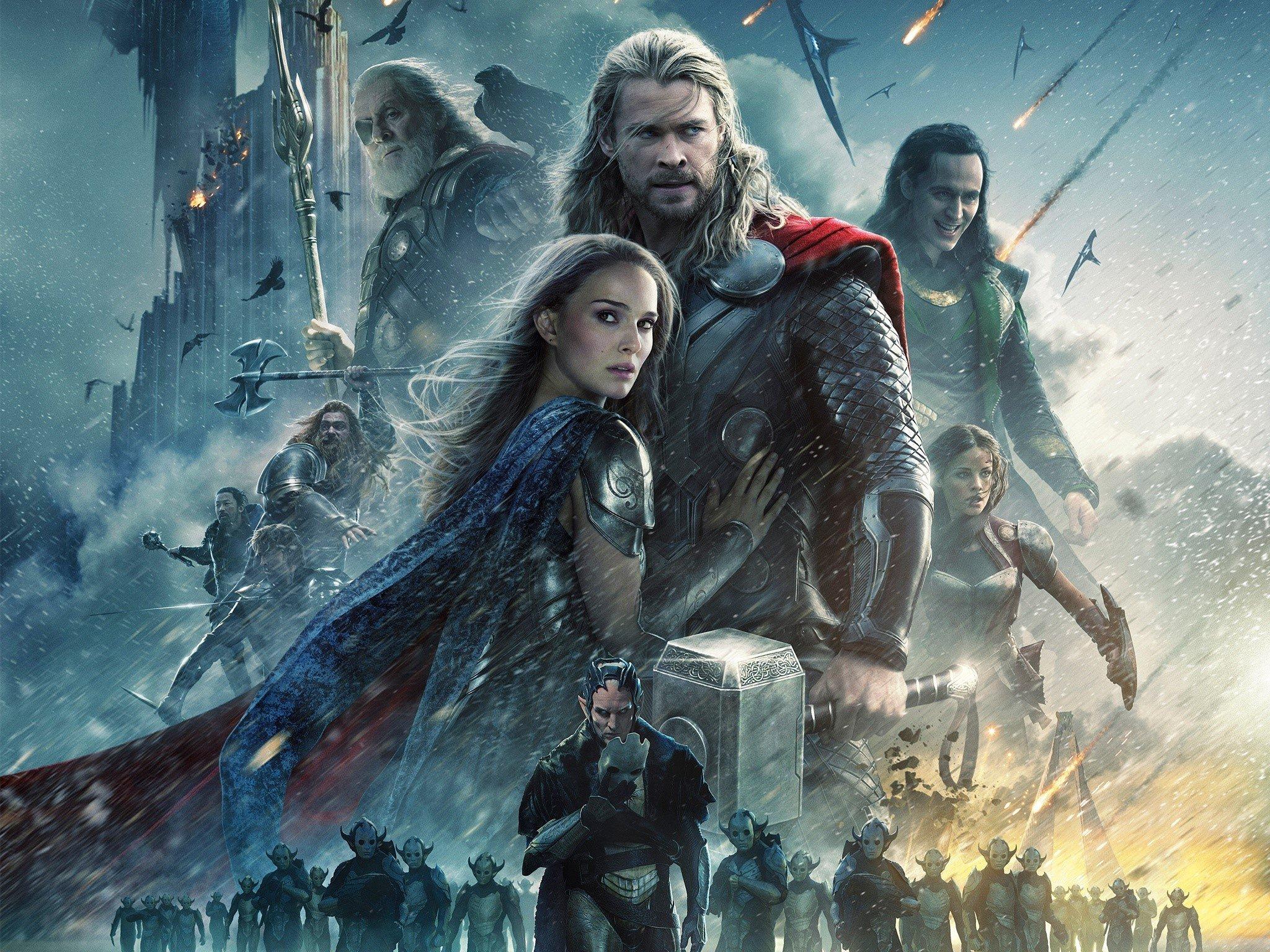 Fondo de pantalla de Thor 2 El mundo oscuro Imágenes