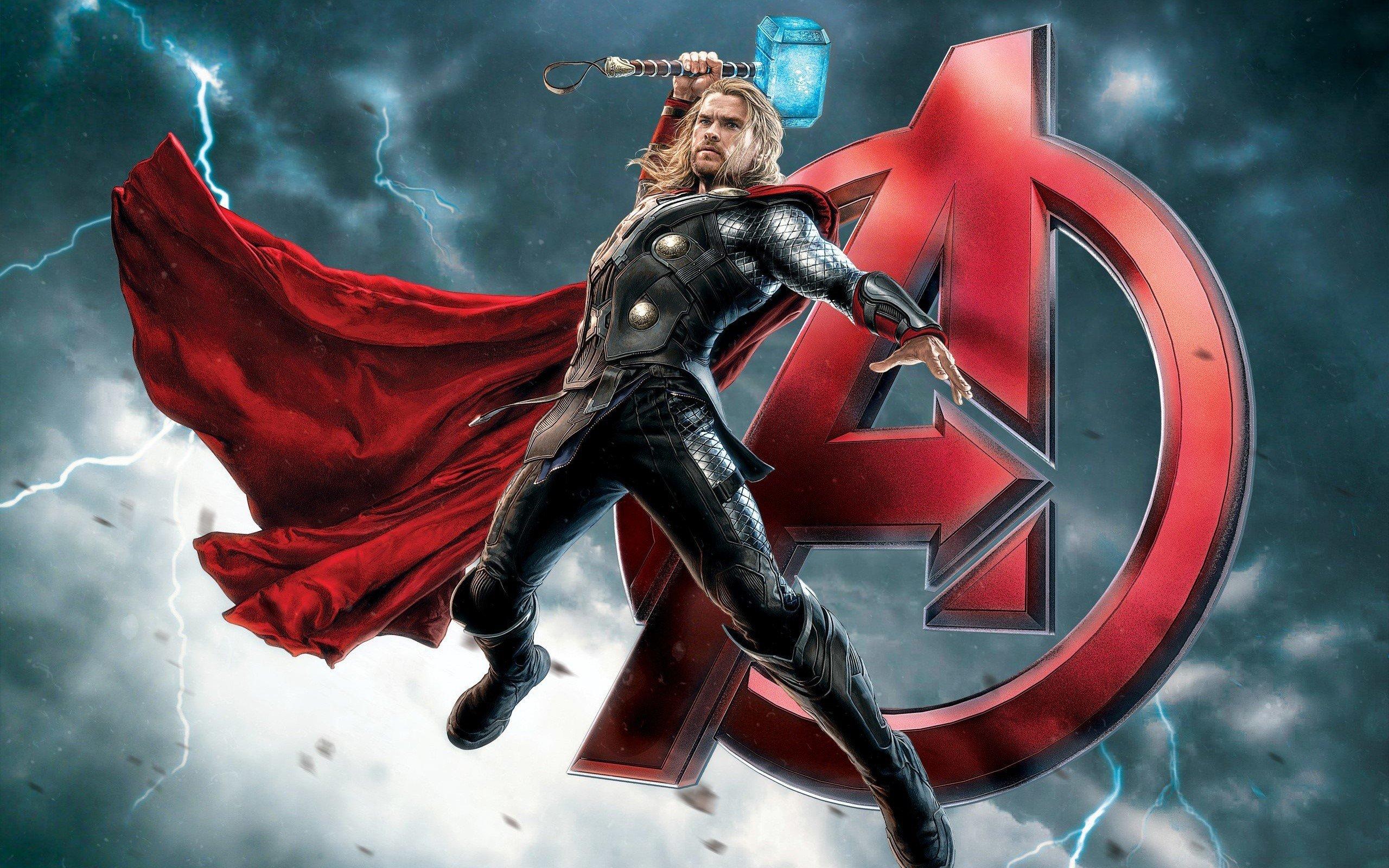 Wallpaper Thor in The Avengers