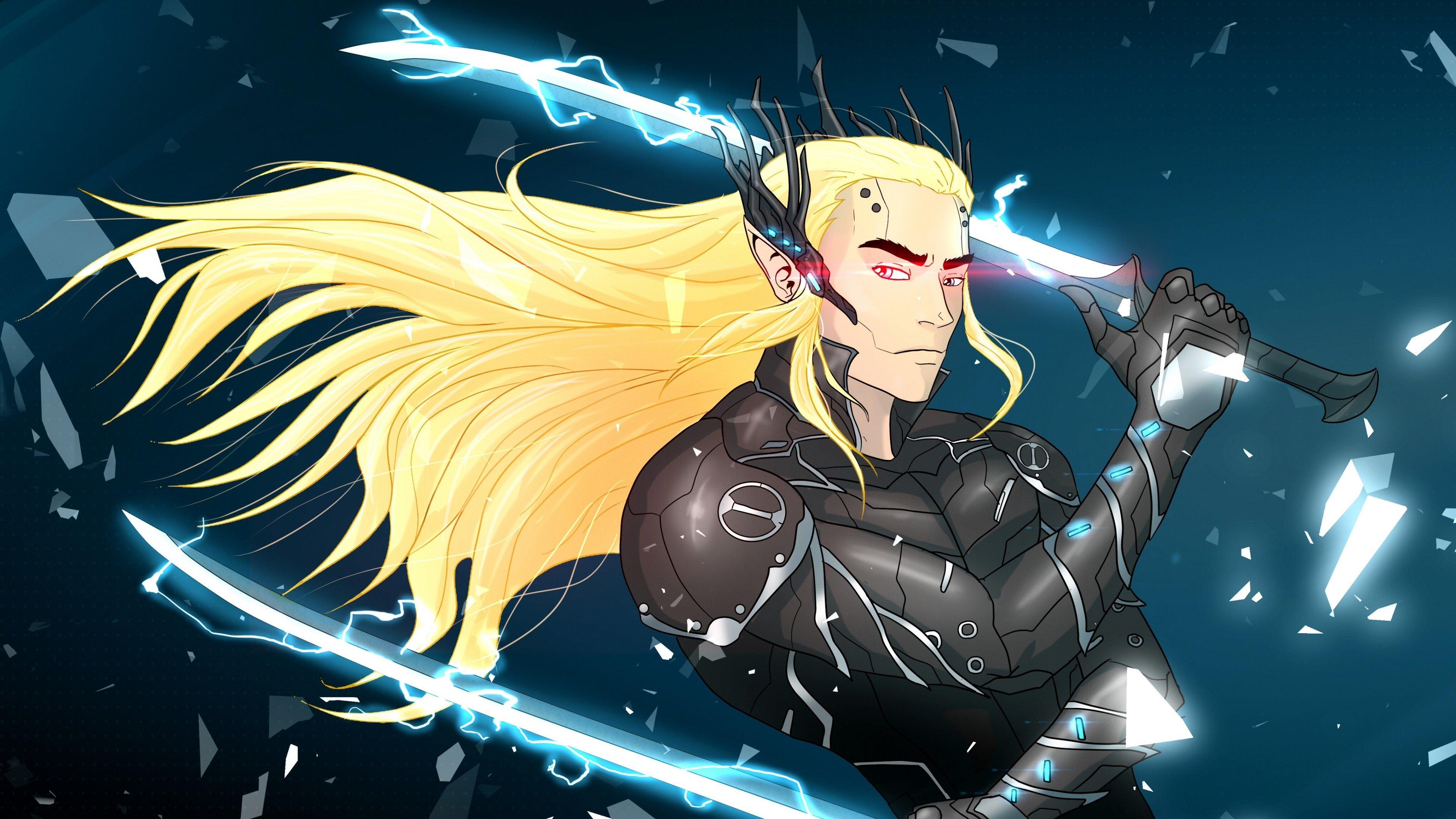 Fondos de pantalla Thranduil como dibujo de Metal Gear Rising Revengeance