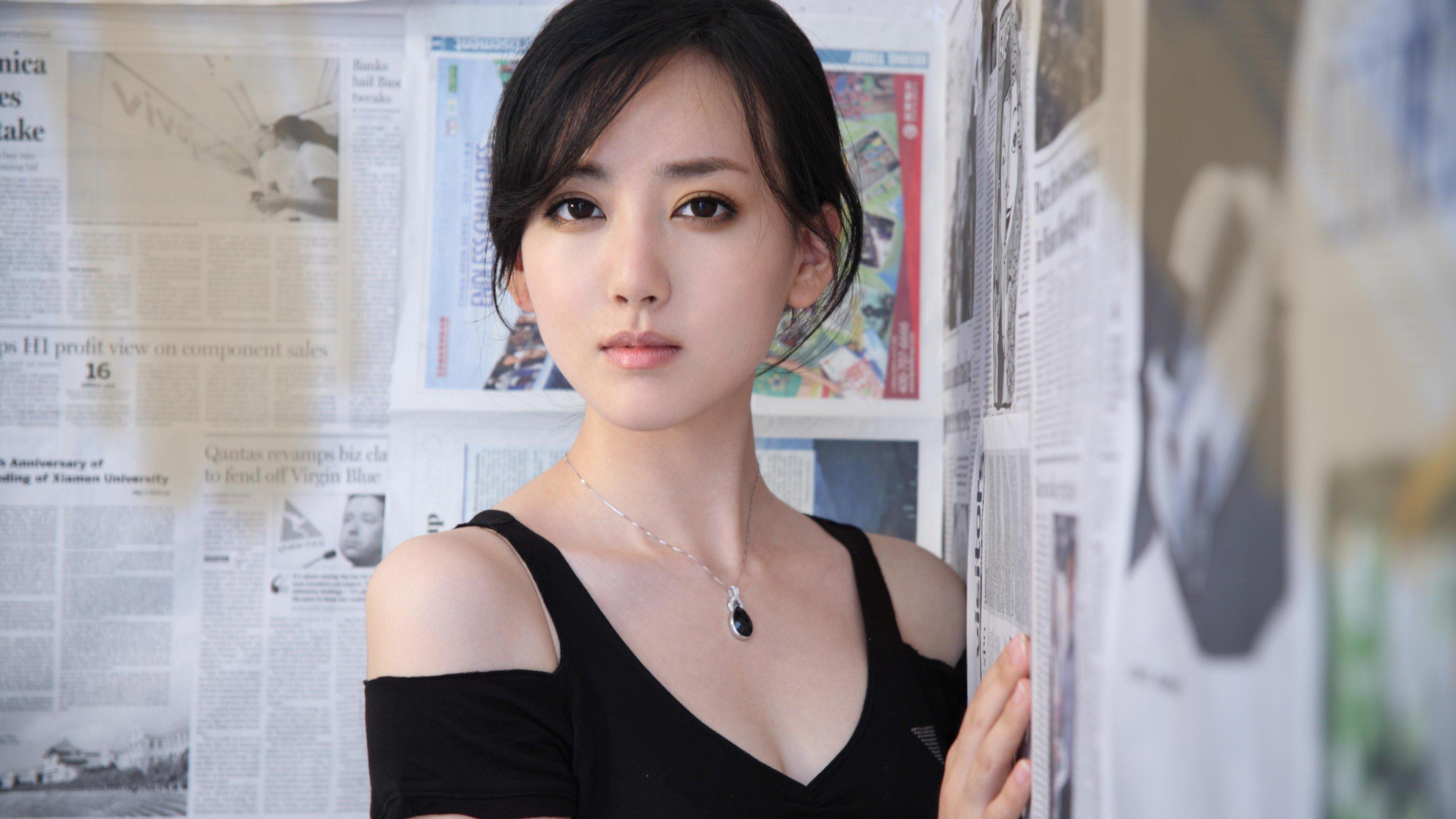 Fondos de pantalla Tian Jing actriz