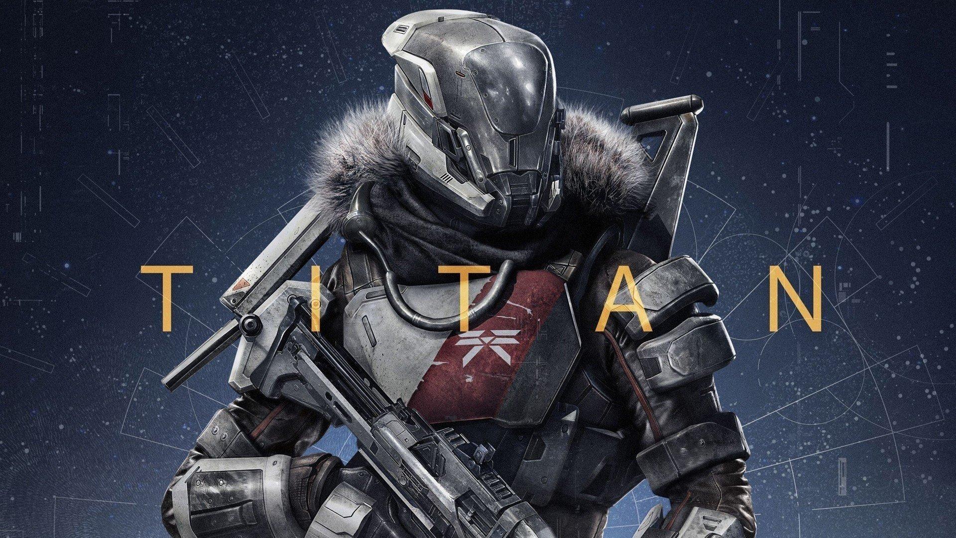 Wallpaper Titan en el juego Destiny Images