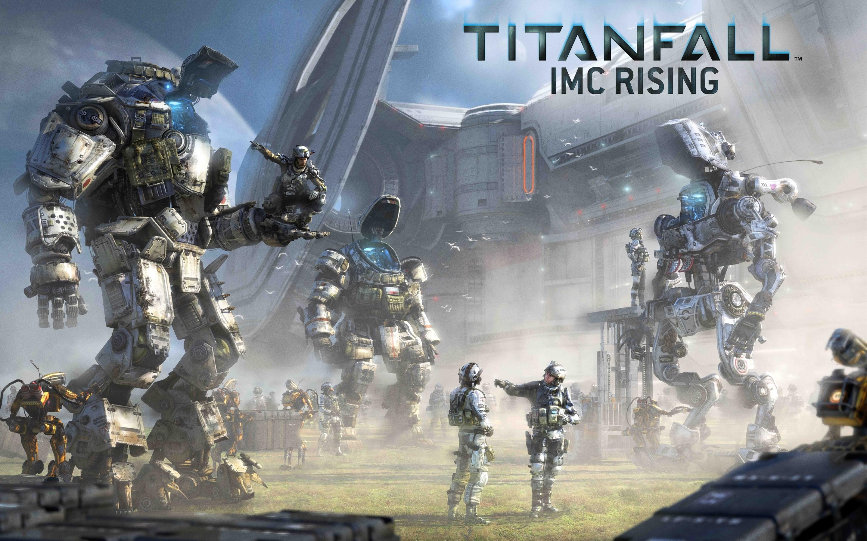 Wallpaper Titanfall IMC rising