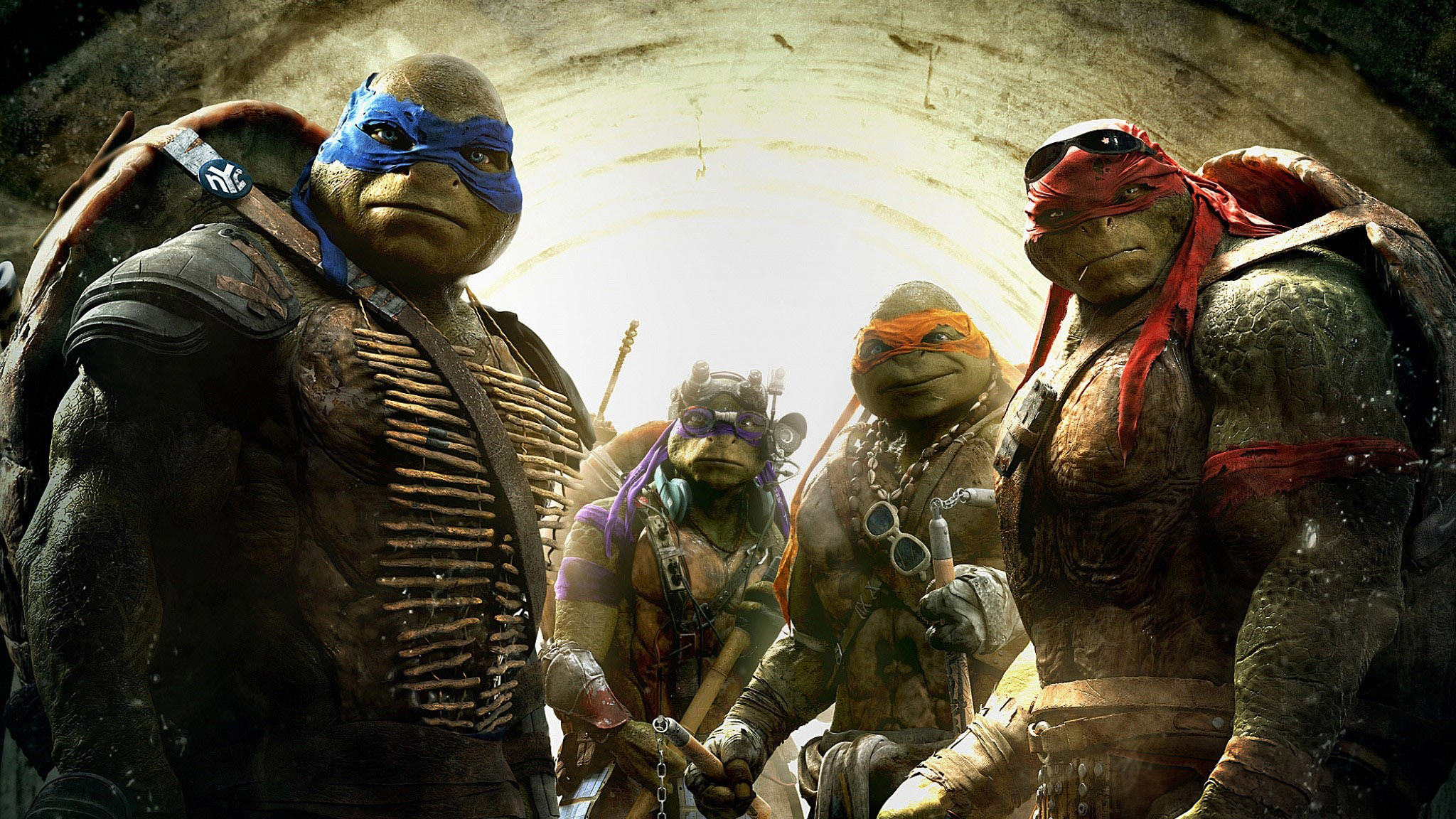 Wallpaper All the ninja turtles