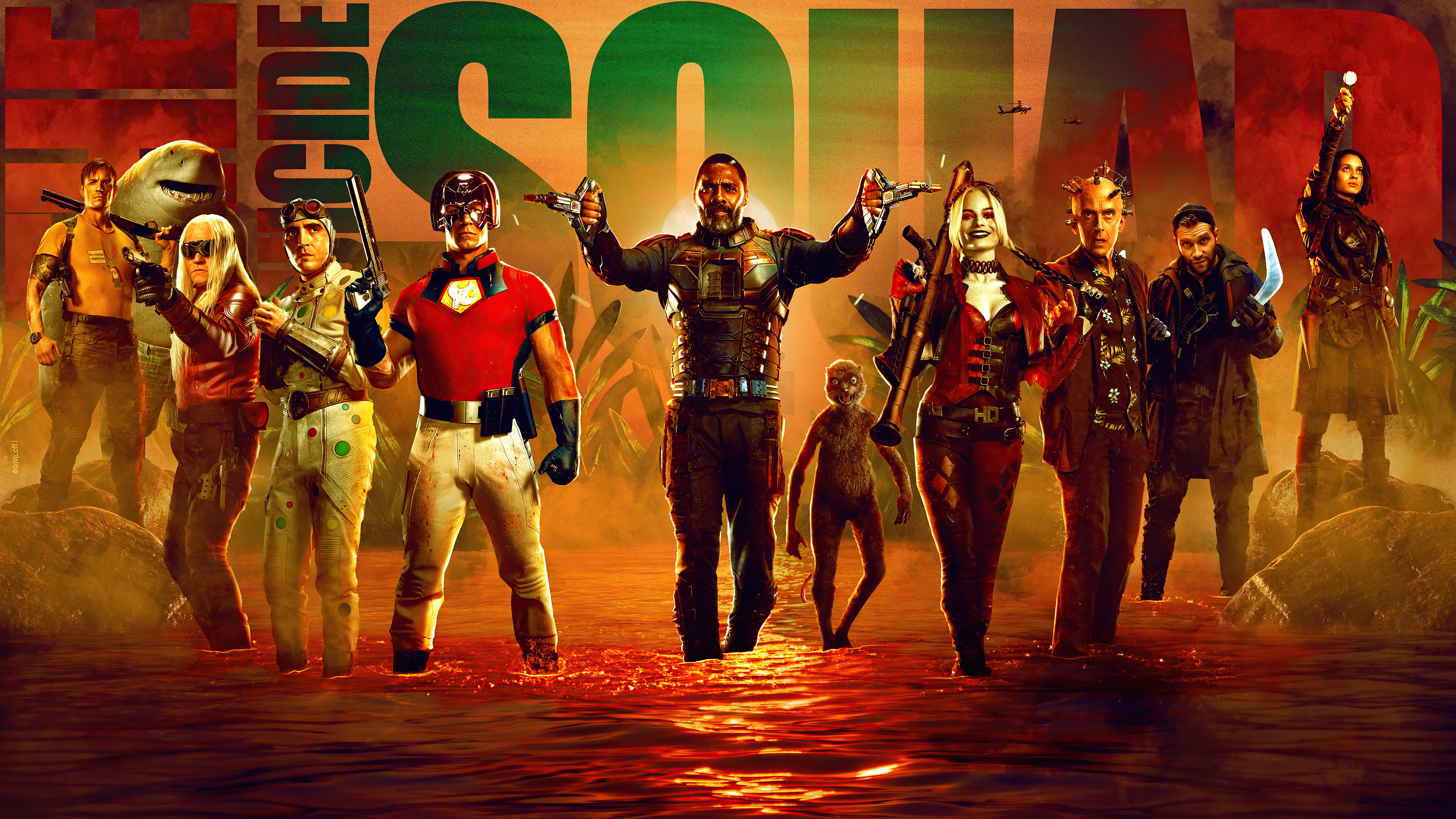 Wallpaper All characters from Suicide Squad