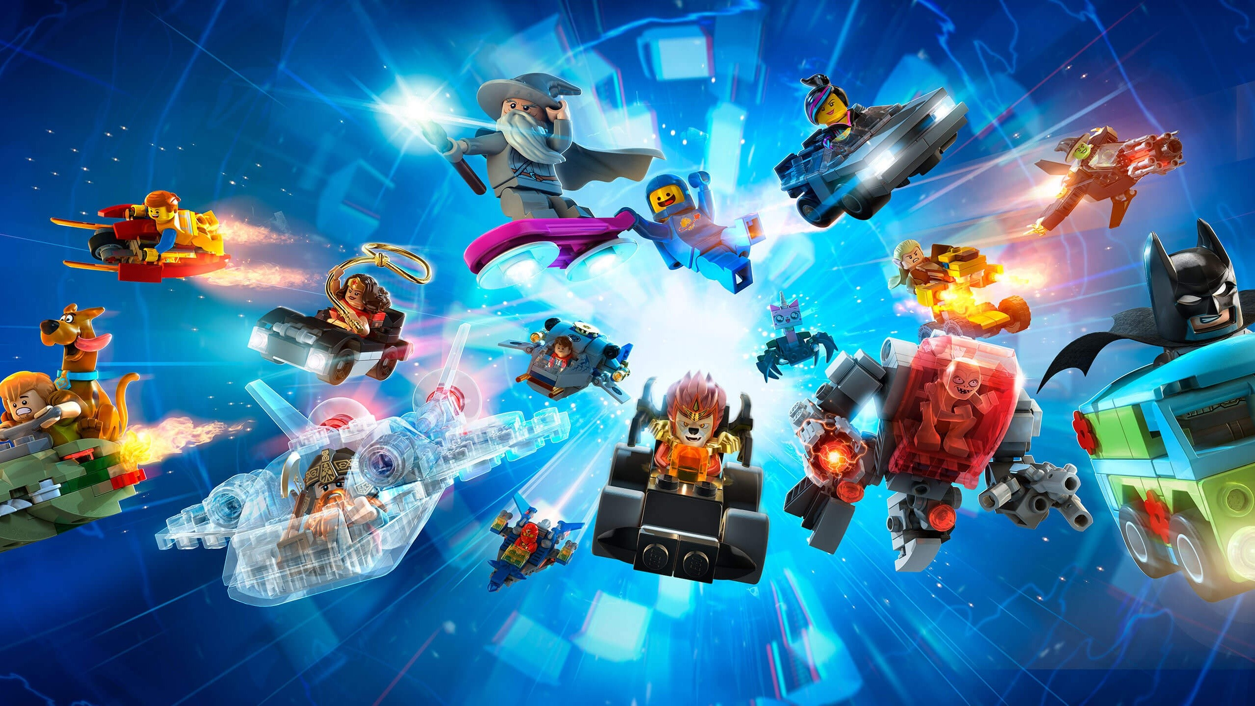 Wallpaper All the characters of Lego Dimensions