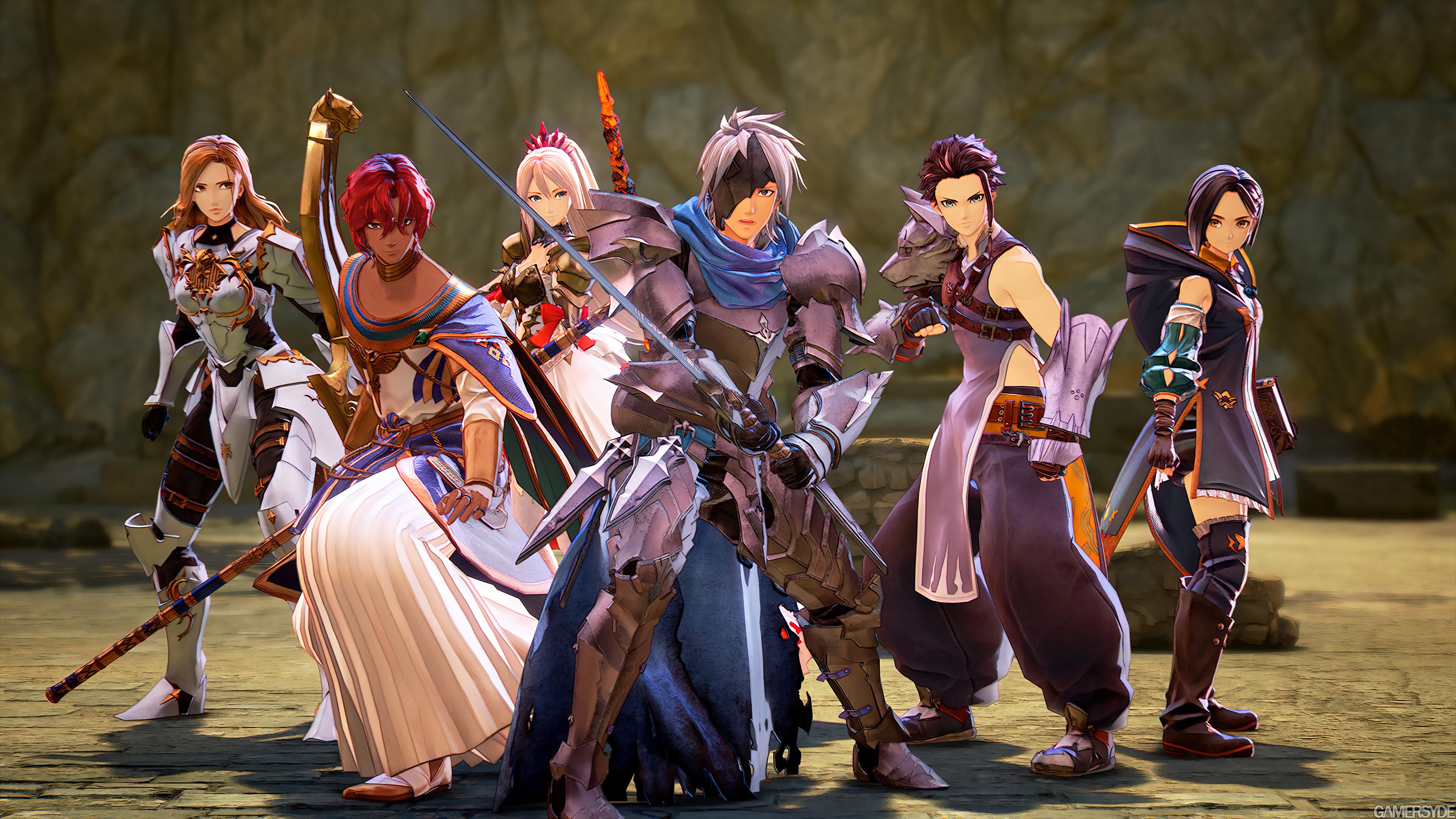 Fondos de pantalla Todos los personajes de Tales of Arise