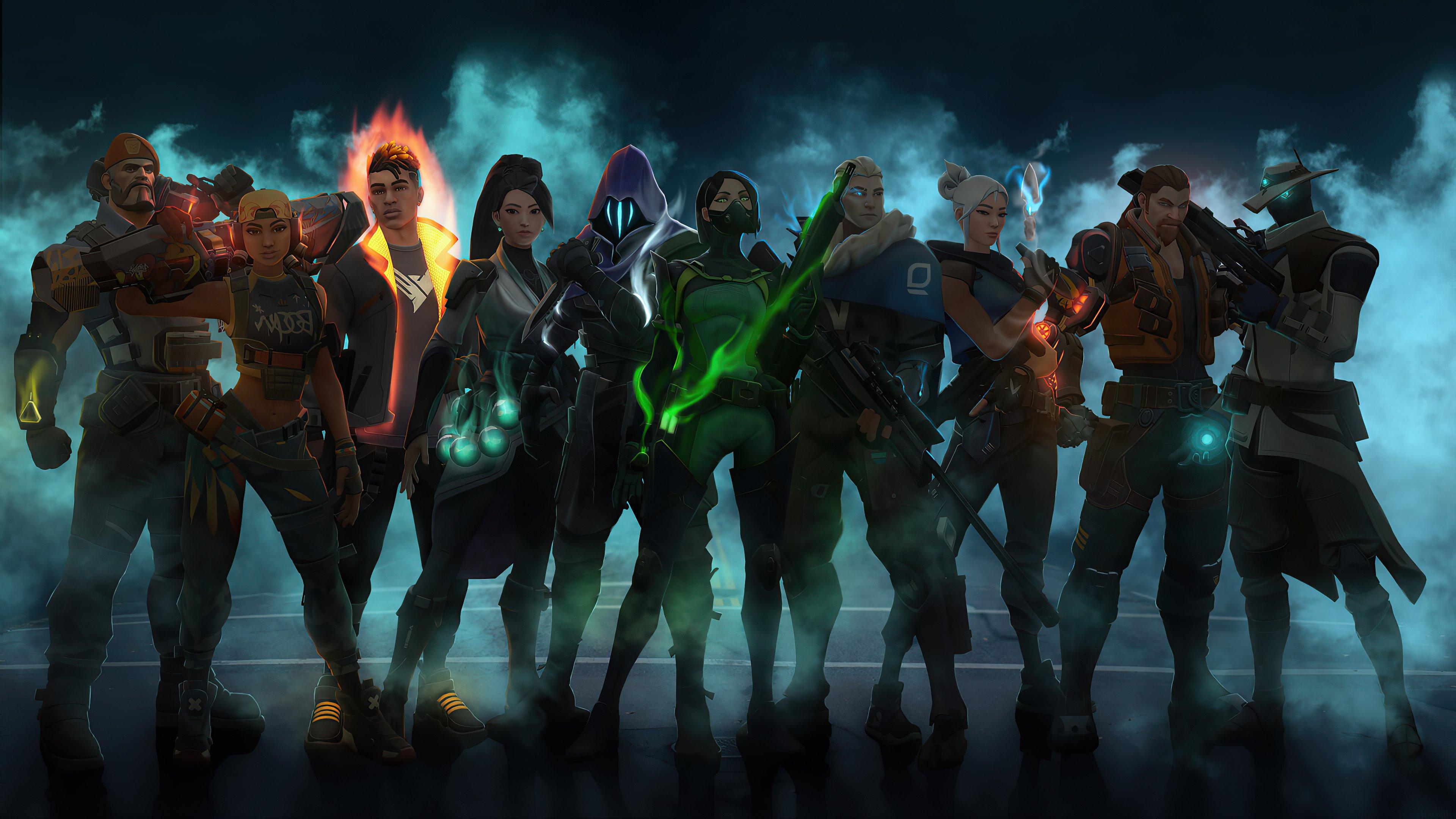 Fondos de pantalla Todos los personajes de Valorant