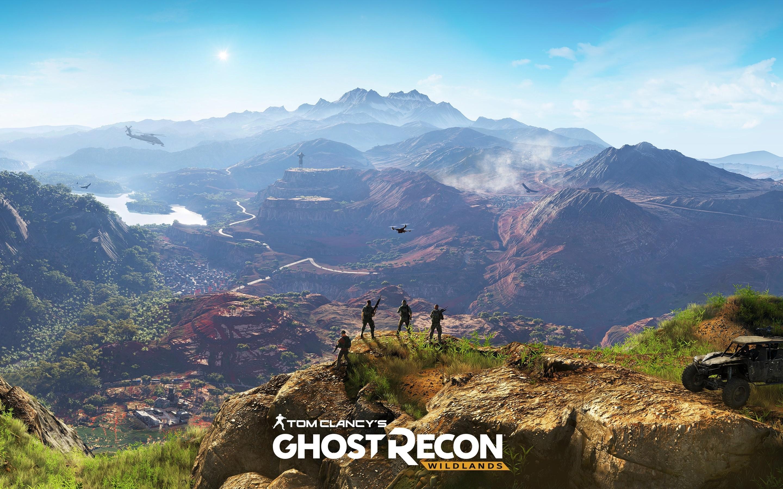 Wallpaper Tom Clancy's Ghost Recon Wildlands