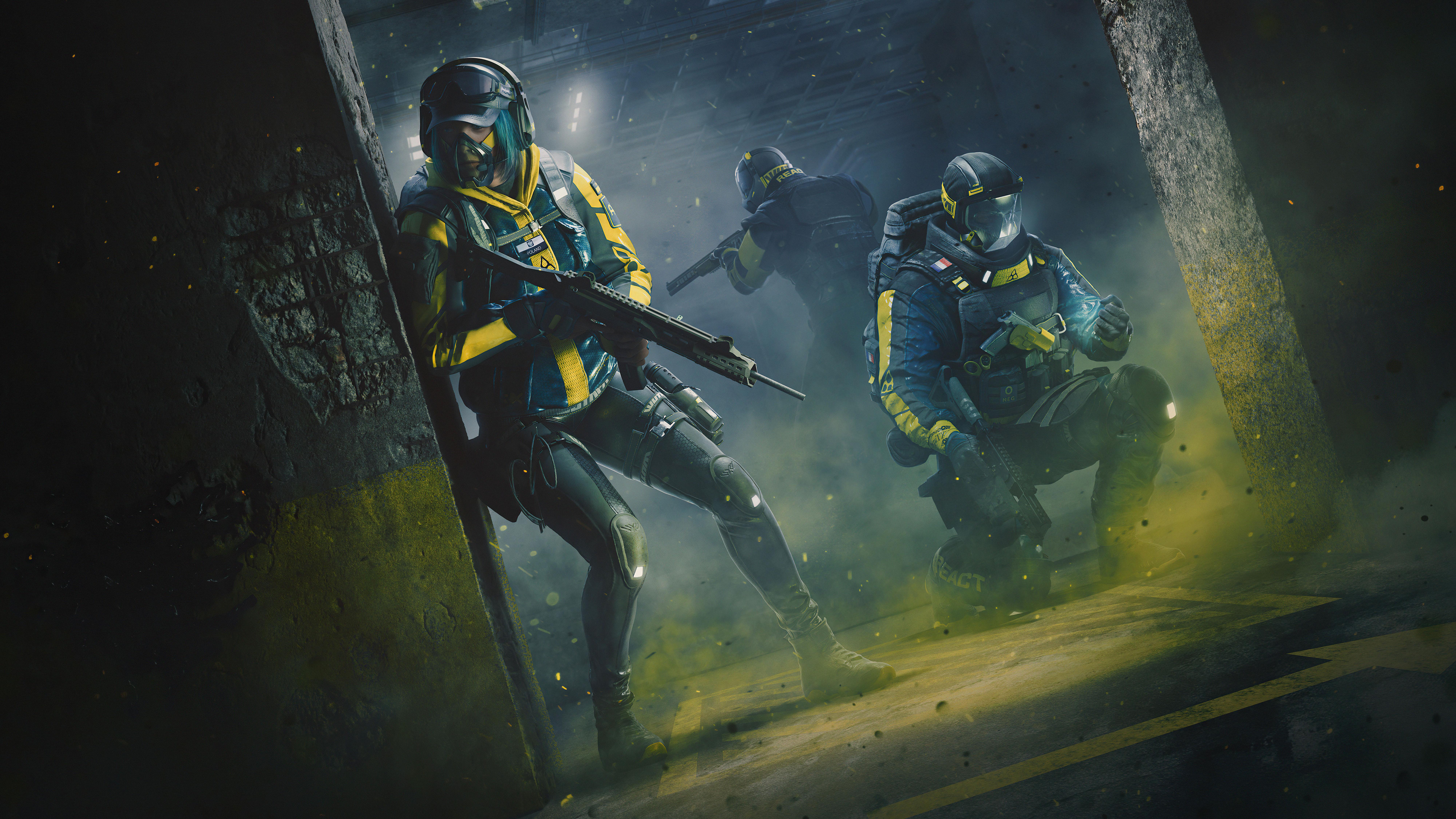 Fondos de pantalla Tom Clancy's Rainbow Six Extraction 2021