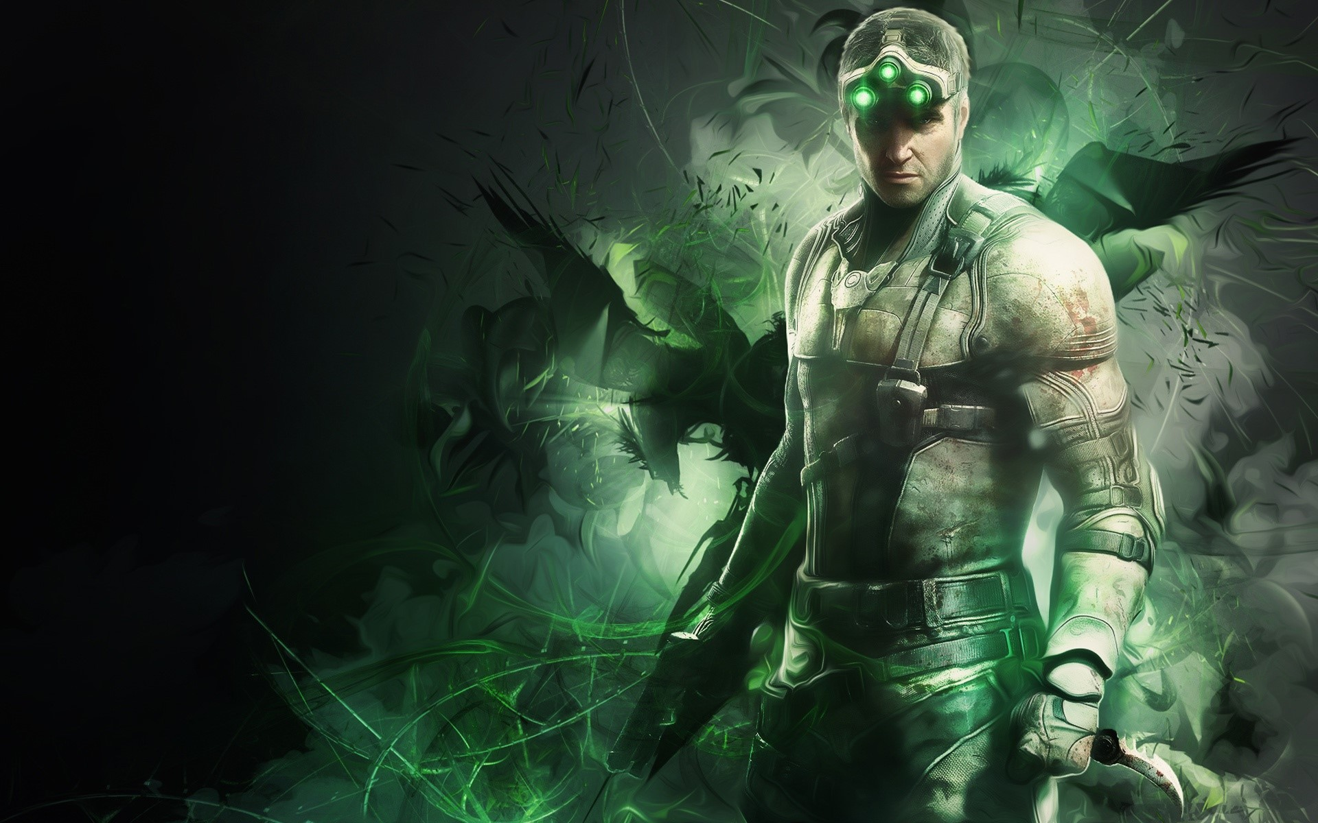Wallpaper Tom Clancy's Splinter Cell