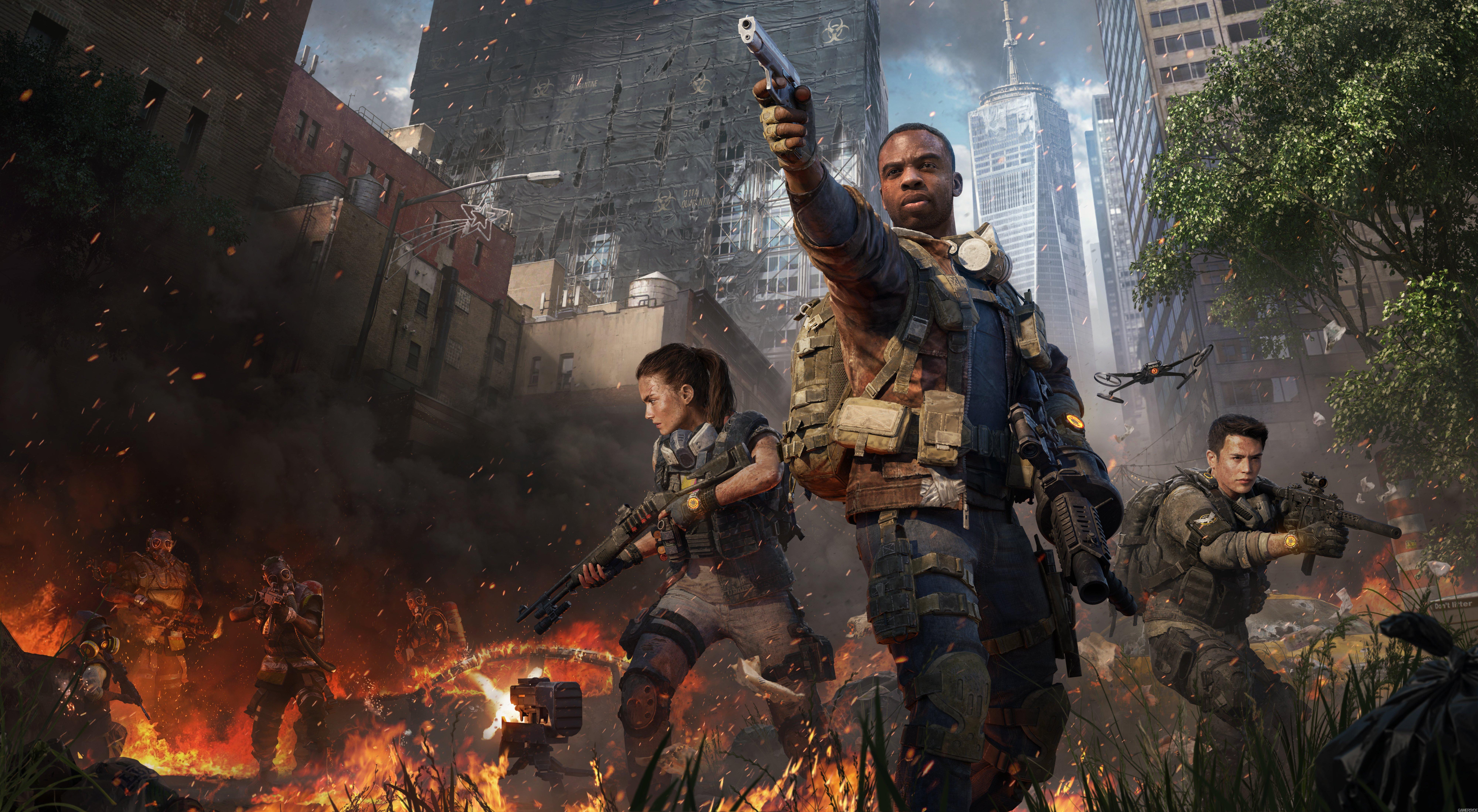 Fondos de pantalla Tom Clancy's The Division 2 Warlords of New York