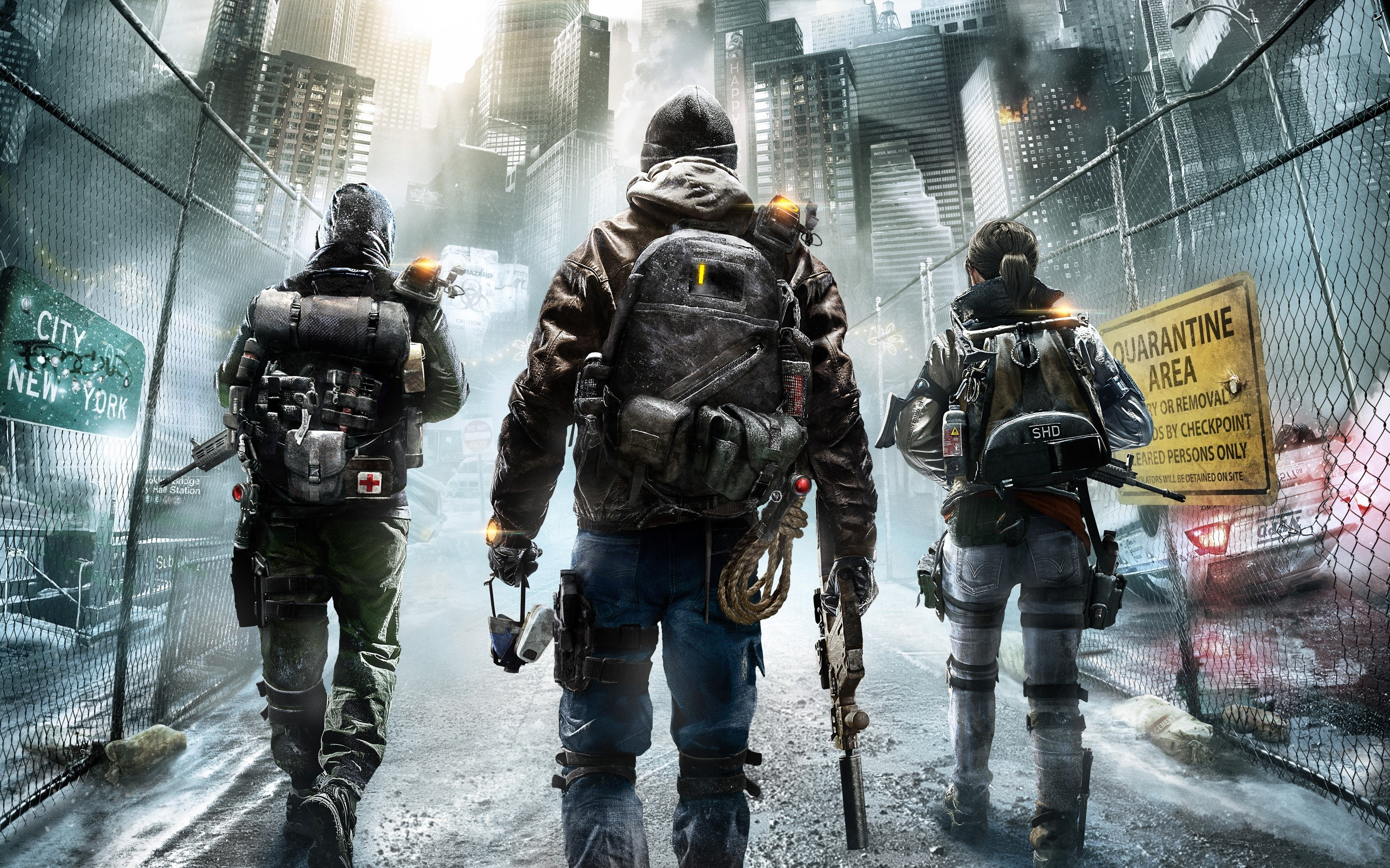 Wallpaper Tom Clancy's: The division 2015