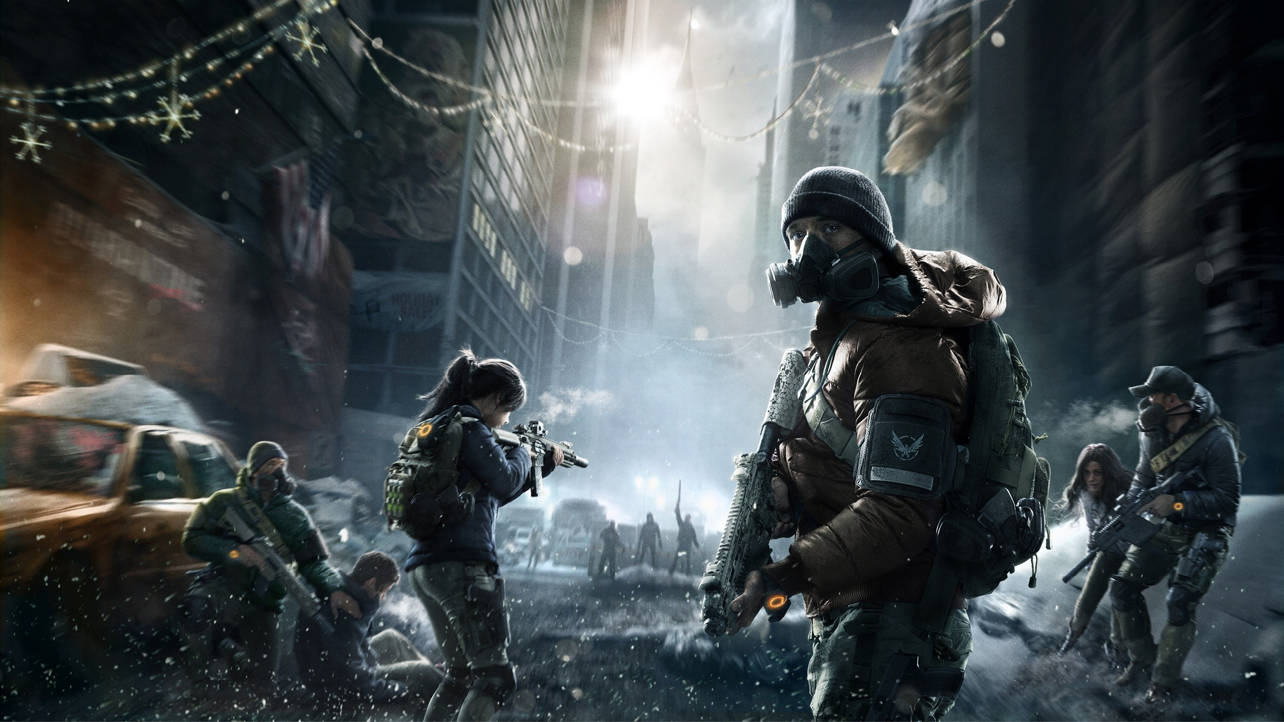Wallpaper Tom Clancys The division in New York