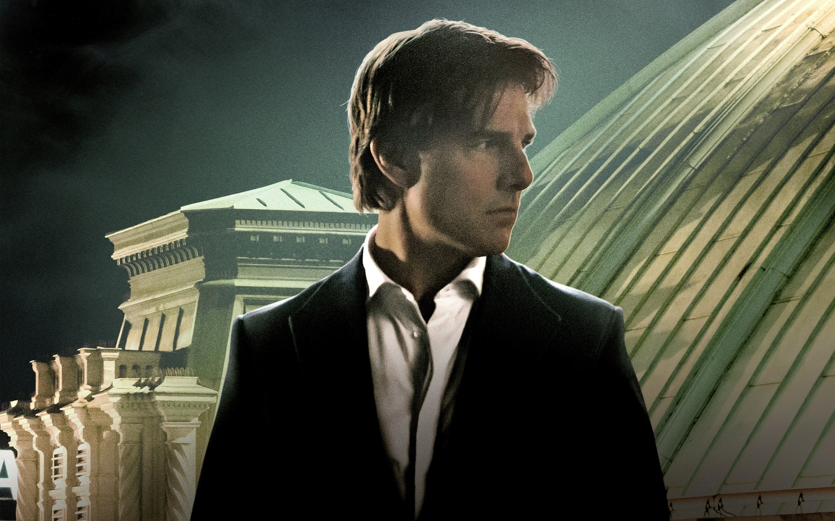 Wallpaper Tom Cruise in Mission Impossible