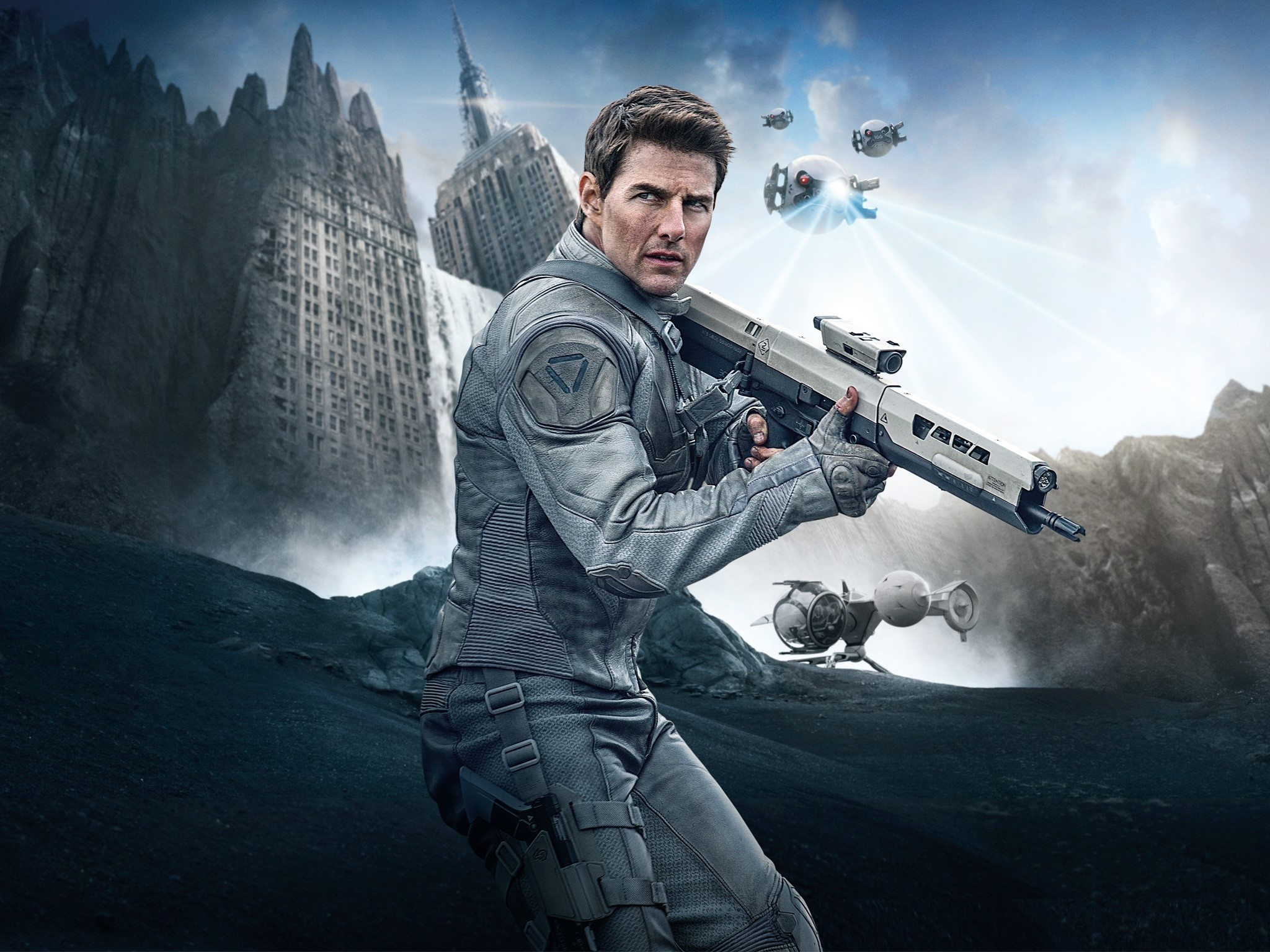 Wallpaper Tom Cruise for Oblivion