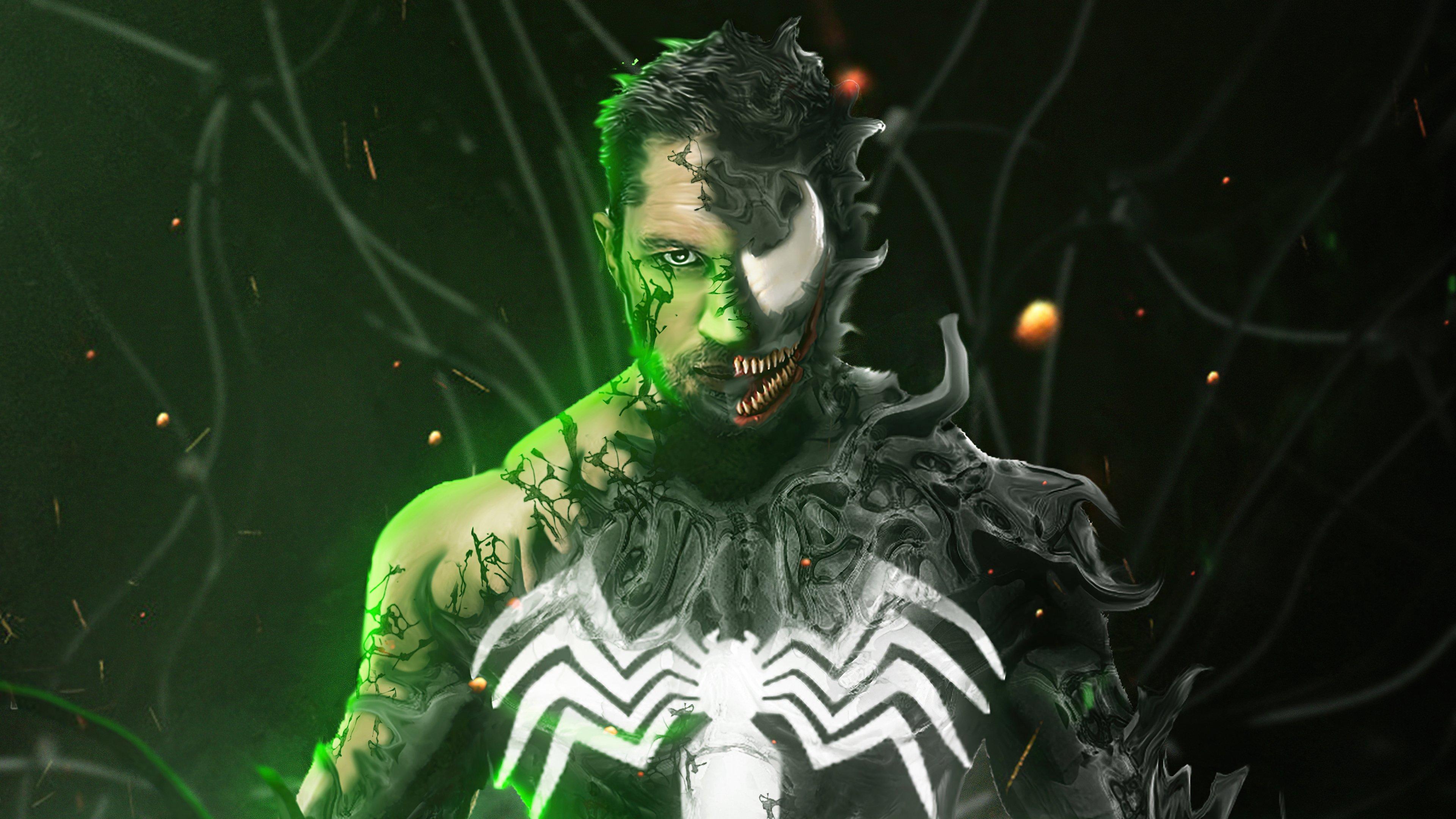 Wallpaper Tom Hardy as Venom
