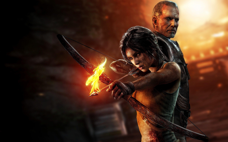Wallpaper Tomb Raider