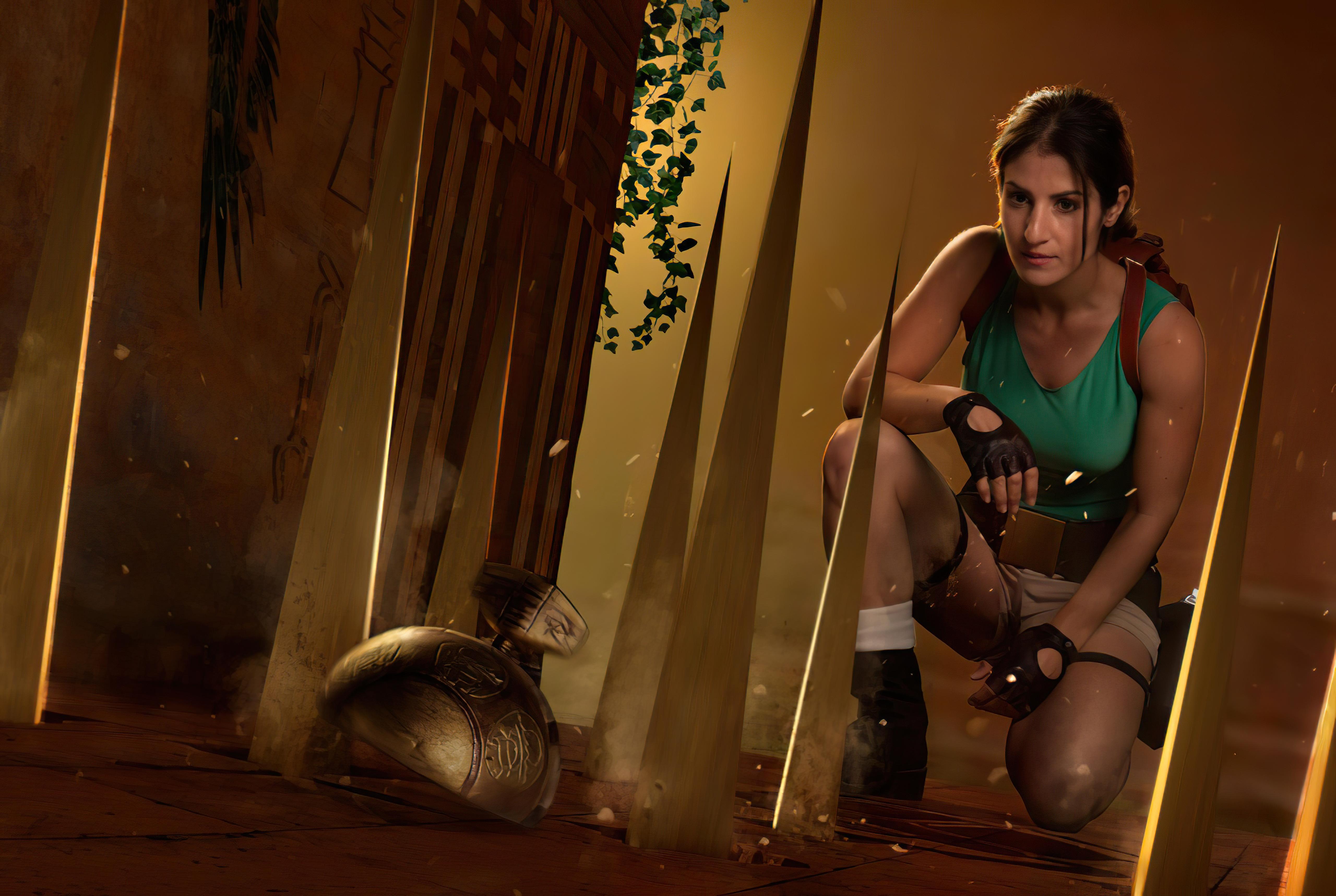 Fondos de pantalla Tomb Raider 4 Lara Croft Cosplay