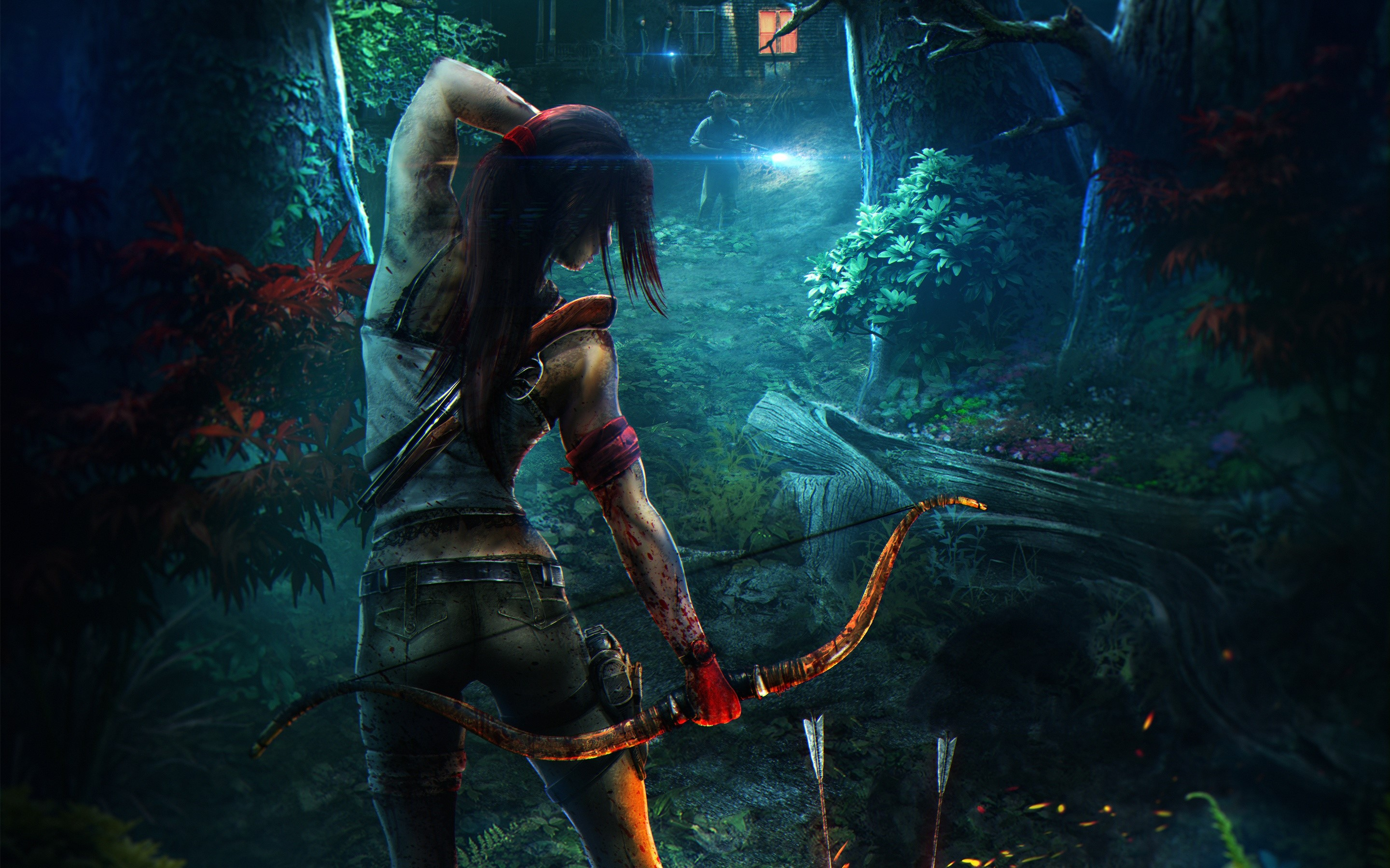 Wallpaper Tomb Raider Quest