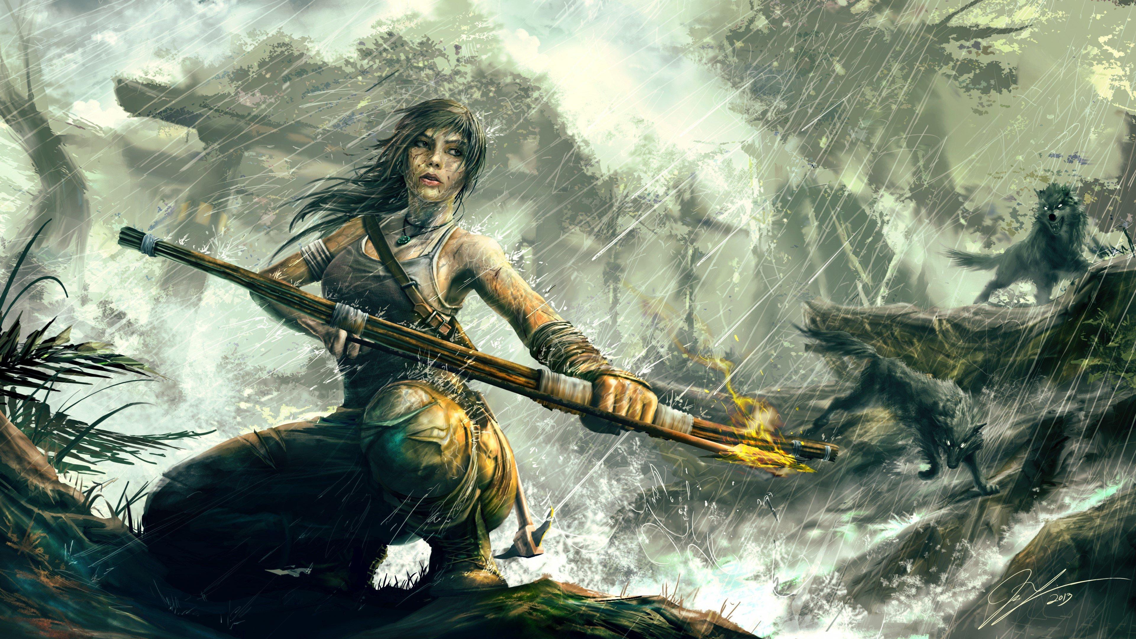 Fondo de pantalla de Tomb Raider Reborn Lara Croft Art Imágenes