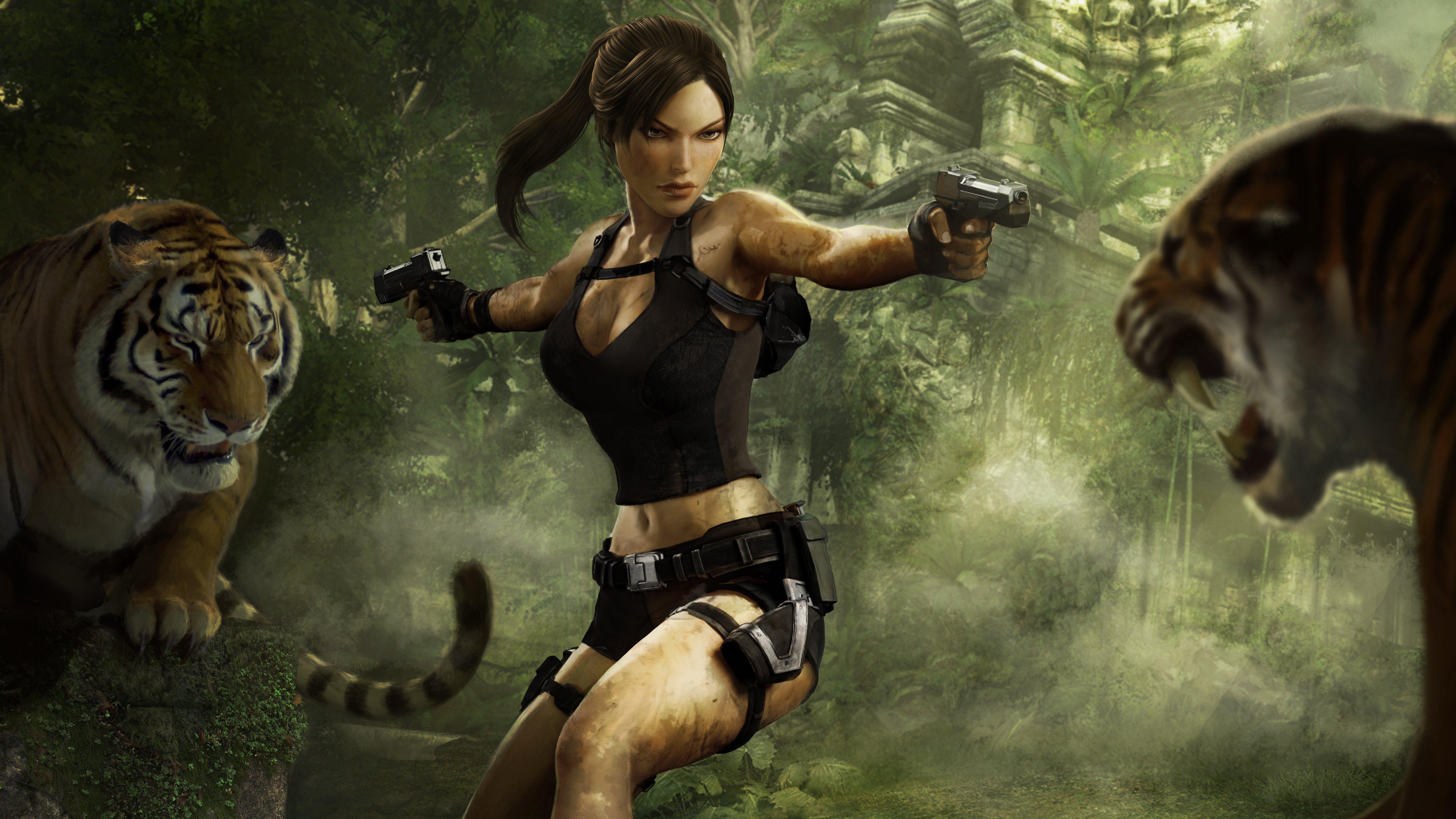 Fondos de pantalla Tomb Raider Underworld 2008