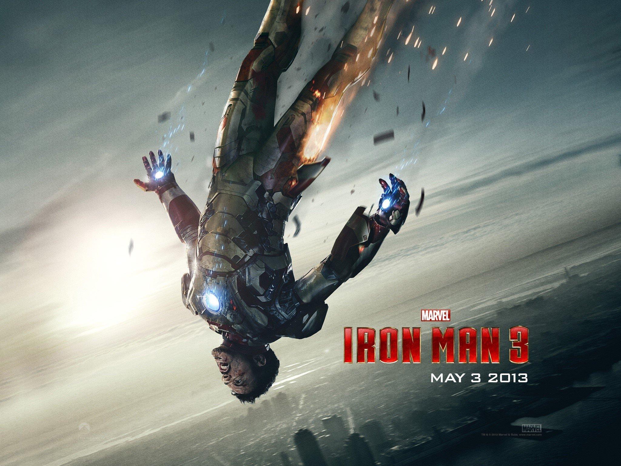 Tony Stark En Iron Man 3 Fondo De Pantalla Id1204
