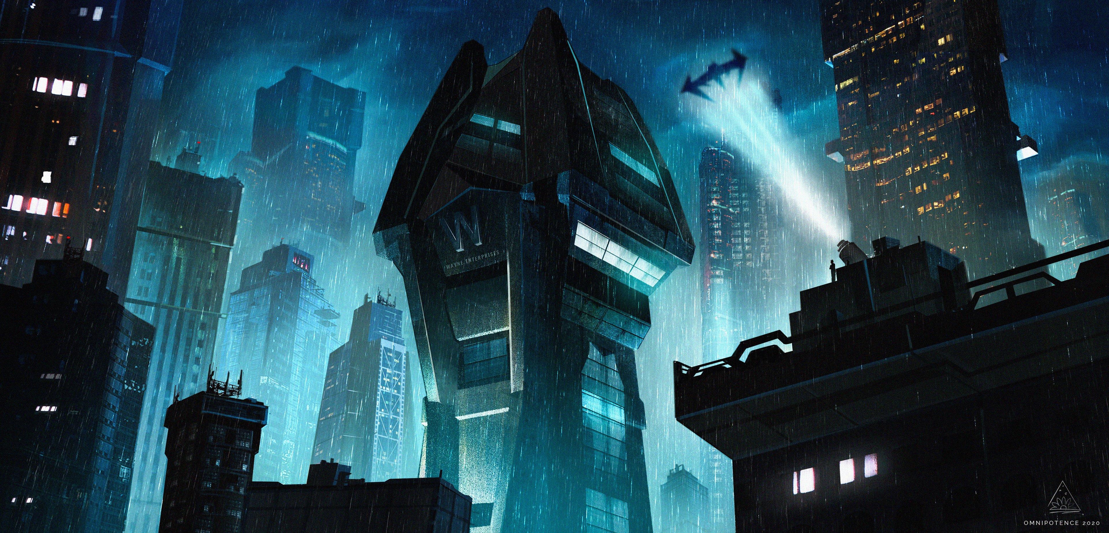 Fondos de pantalla Torre Wayne en Ciudad Gótica