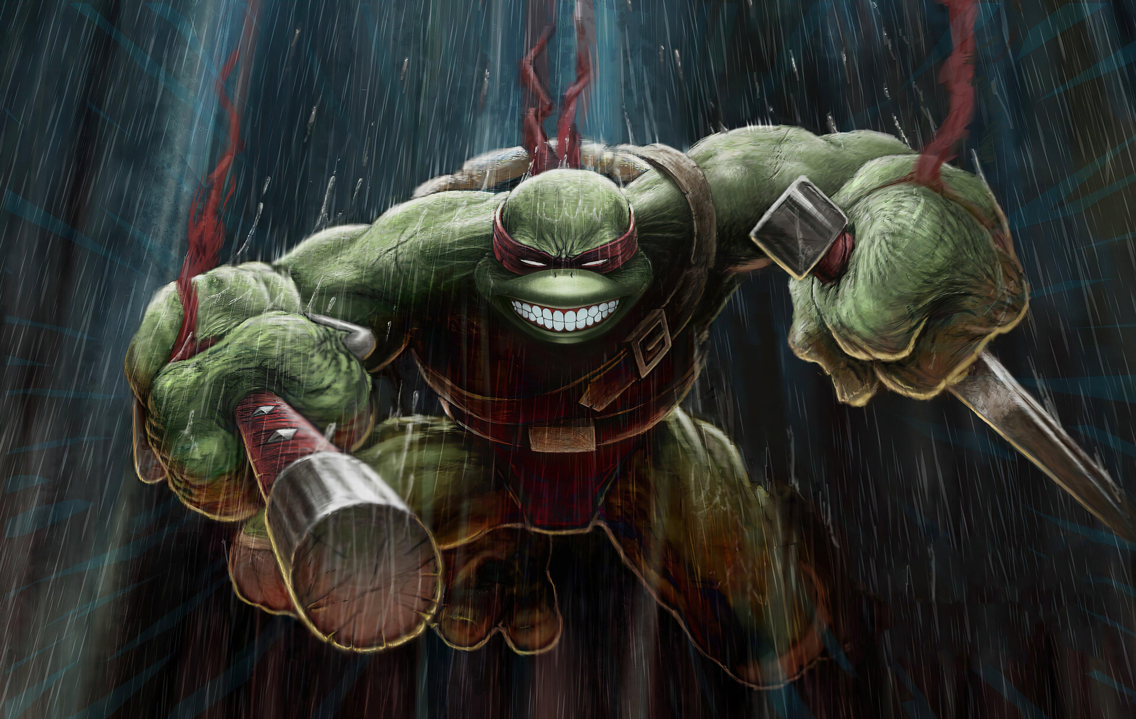 Wallpaper Ninja Turtle Raphael