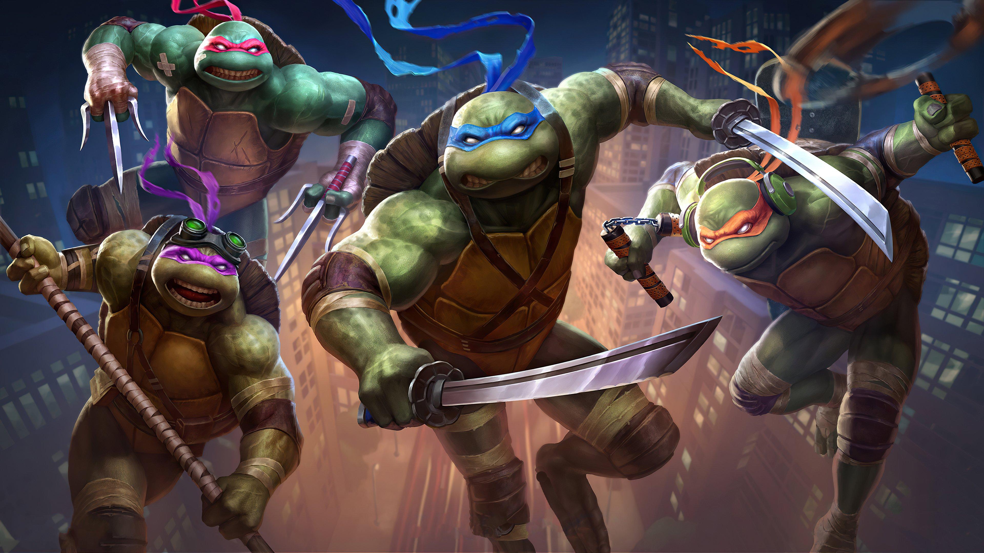 Wallpaper Teenage Mutant Ninja Turtles 2020