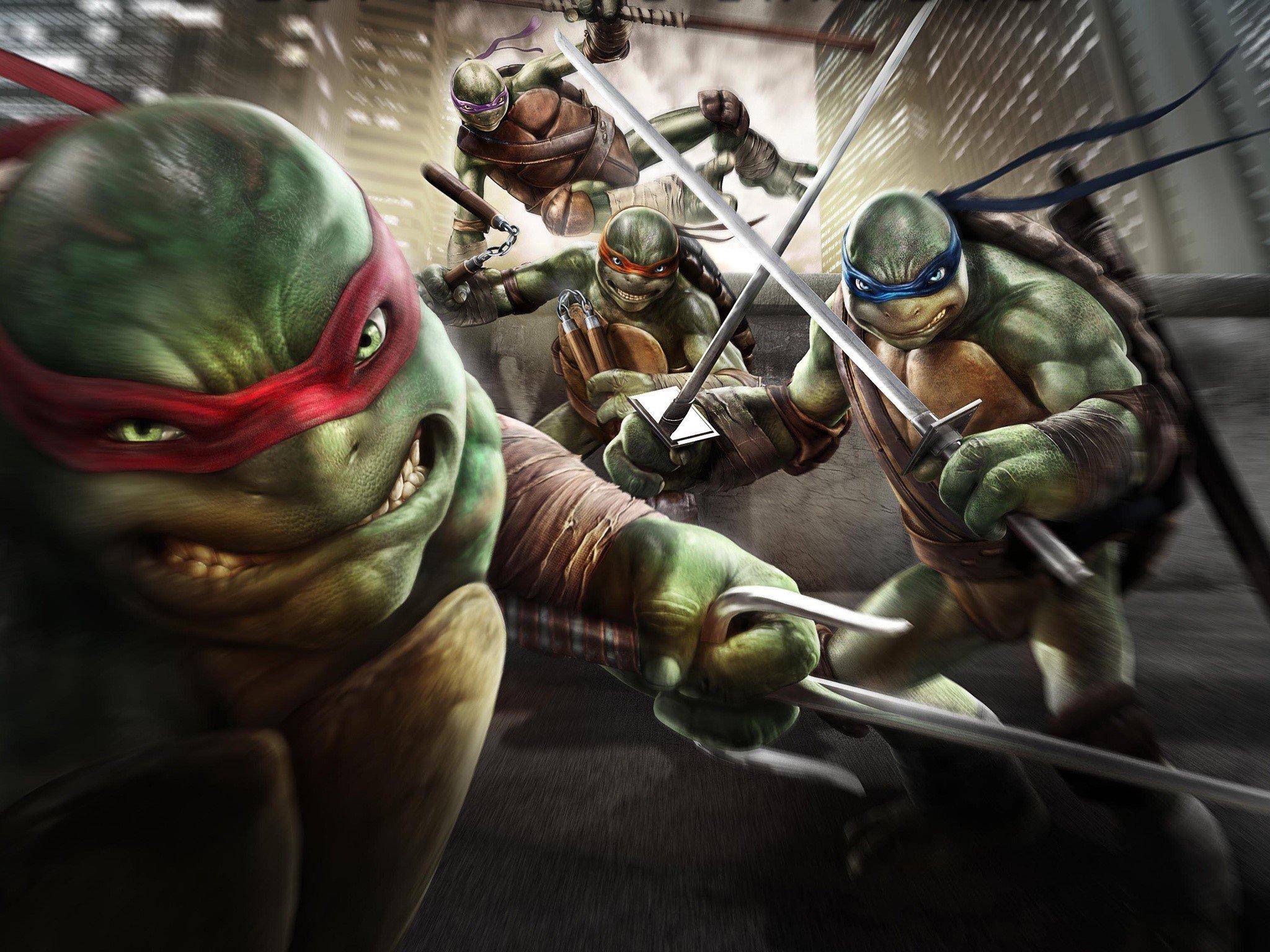 Fondos de pantalla Tortugas Ninja